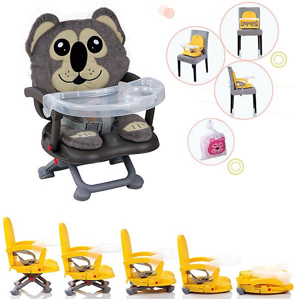 Стульчик для кормления H-1, Babies, KoalaСтульчики для кормления<br>Стульчик для кормления H-1, Babies, Koala - легкая, простая и компактная модель для комфортного кормления малыша дома и в путешествии.<br>Компактный стульчик для кормления H-1 Koala от Babies (Бэйбис) идеален как для домашнего использования, так и для поездок. Он легко и быстро складывается, не занимает много места при хранении и перевозке. Мягкий чехол изготовлен в виде улыбающейся коалы. Предусмотрена удобная съемная столешница с бортиками и подстаканником. Нескользящие ножки устойчивы на поверхности. Стульчик можно использовать как самостоятельный предмет мебели или как бустер, сложив ножки опоры и прикрепив к обычному стулу с помощью специальных ремней, входящих в комплект.<br><br>Дополнительная информация:<br><br>- Возраст детей: от полугода до 3 лет<br>- Максимальная нагрузка: 15 кг.<br>- Компактный, легкий<br>- Красивый дизайн<br>- Устойчивая конструкция<br>- Удобные ножки, регулируются по высоте в 3 положениях<br>- Просторное сиденье<br>- Оснащен съемным чехлом, который можно стирать<br>- Трехточечный ремень безопасности<br>- Предусмотрен мешок для транспортировки<br>- Материал: качественный пластик, текстиль<br>- Вес: 2 кг.<br>- Размер стульчика: 36 х 38 х 50 см.<br><br>Стульчик для кормления H-1, Babies, Koala можно купить в нашем интернет-магазине.<br><br>Ширина мм: 375<br>Глубина мм: 345<br>Высота мм: 770<br>Вес г: 1600<br>Возраст от месяцев: 6<br>Возраст до месяцев: 36<br>Пол: Унисекс<br>Возраст: Детский<br>SKU: 4811282