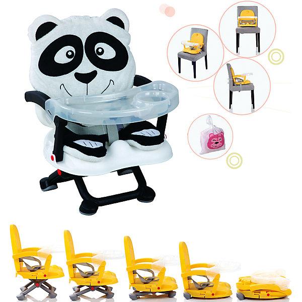 Стульчик для кормления H-1, Babies, PandaСтульчики для кормления<br>Стульчик для кормления H-1, Babies, Panda - легкая, простая и компактная модель для комфортного кормления малыша дома и в путешествии.<br>Компактный стульчик для кормления H-1 Panda от Babies (Бэйбис) идеален как для домашнего использования, так и для поездок. Он легко и быстро складывается, не занимает много места при хранении и перевозке. Мягкий чехол изготовлен в виде дружелюбной панды. Предусмотрена удобная съемная столешница с бортиками и подстаканником. Нескользящие ножки устойчивы на поверхности. Стульчик можно использовать как самостоятельный предмет мебели или как бустер, сложив ножки опоры и прикрепив к обычному стулу с помощью специальных ремней, входящих в комплект.<br><br>Дополнительная информация:<br><br>- Возраст детей: от полугода до 3 лет<br>- Максимальная нагрузка: 15 кг.<br>- Компактный, легкий<br>- Красивый дизайн<br>- Устойчивая конструкция<br>- Удобные ножки, регулируются по высоте в 3 положениях<br>- Просторное сиденье<br>- Оснащен съемным чехлом, который можно стирать<br>- Трехточечный ремень безопасности<br>- Предусмотрен мешок для транспортировки<br>- Материал: качественный пластик, текстиль<br>- Вес: 2 кг.<br>- Размер стульчика: 36 х 38 х 50 см.<br><br>Стульчик для кормления H-1, Babies, Panda можно купить в нашем интернет-магазине.<br><br>Ширина мм: 375<br>Глубина мм: 345<br>Высота мм: 770<br>Вес г: 1600<br>Возраст от месяцев: 6<br>Возраст до месяцев: 36<br>Пол: Унисекс<br>Возраст: Детский<br>SKU: 4811283