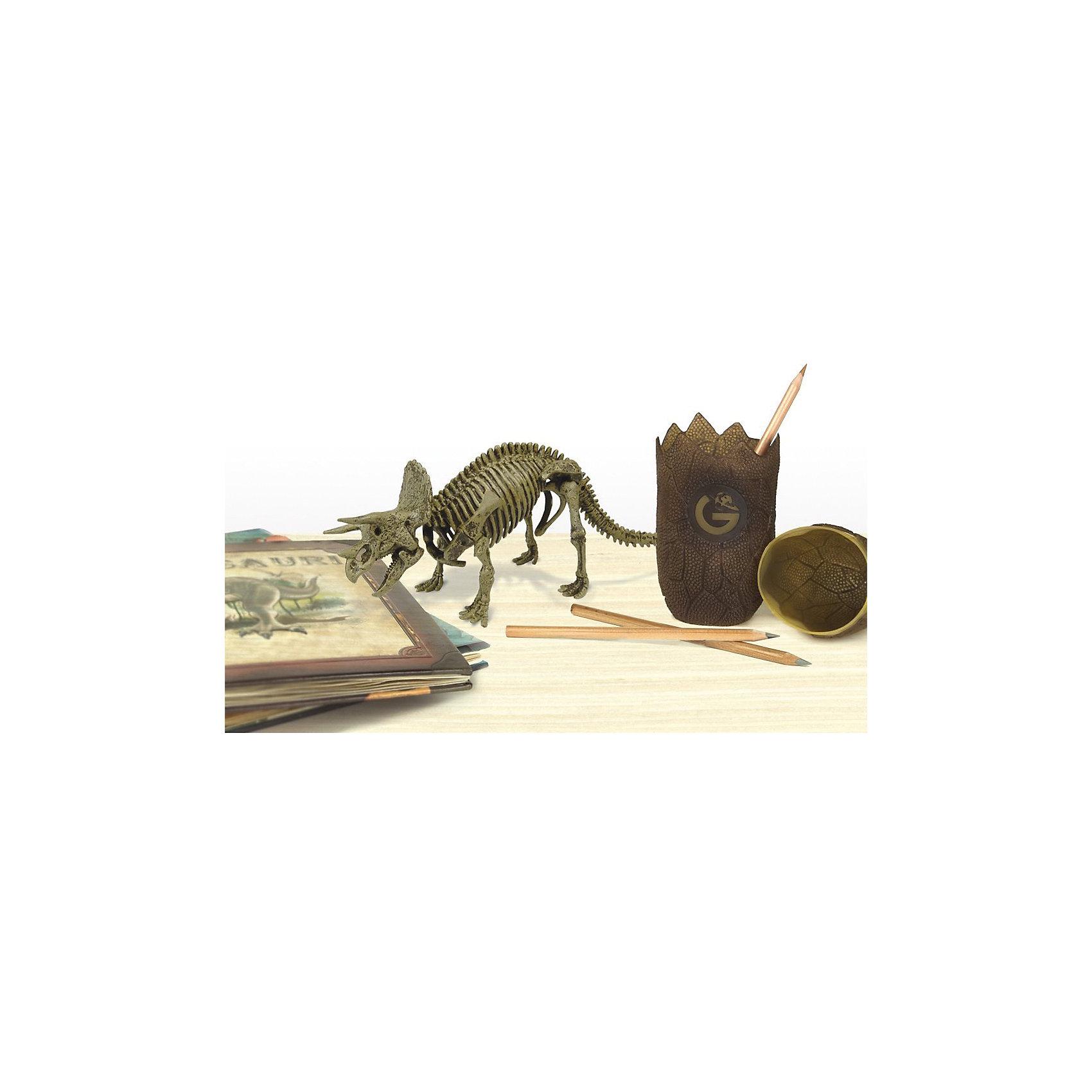 """Яйца динозавра Юрский период """"Трицератопс"""" от myToys"""