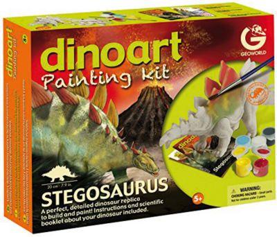 Geoworld Набор для творчества Диноарт Стегозавр