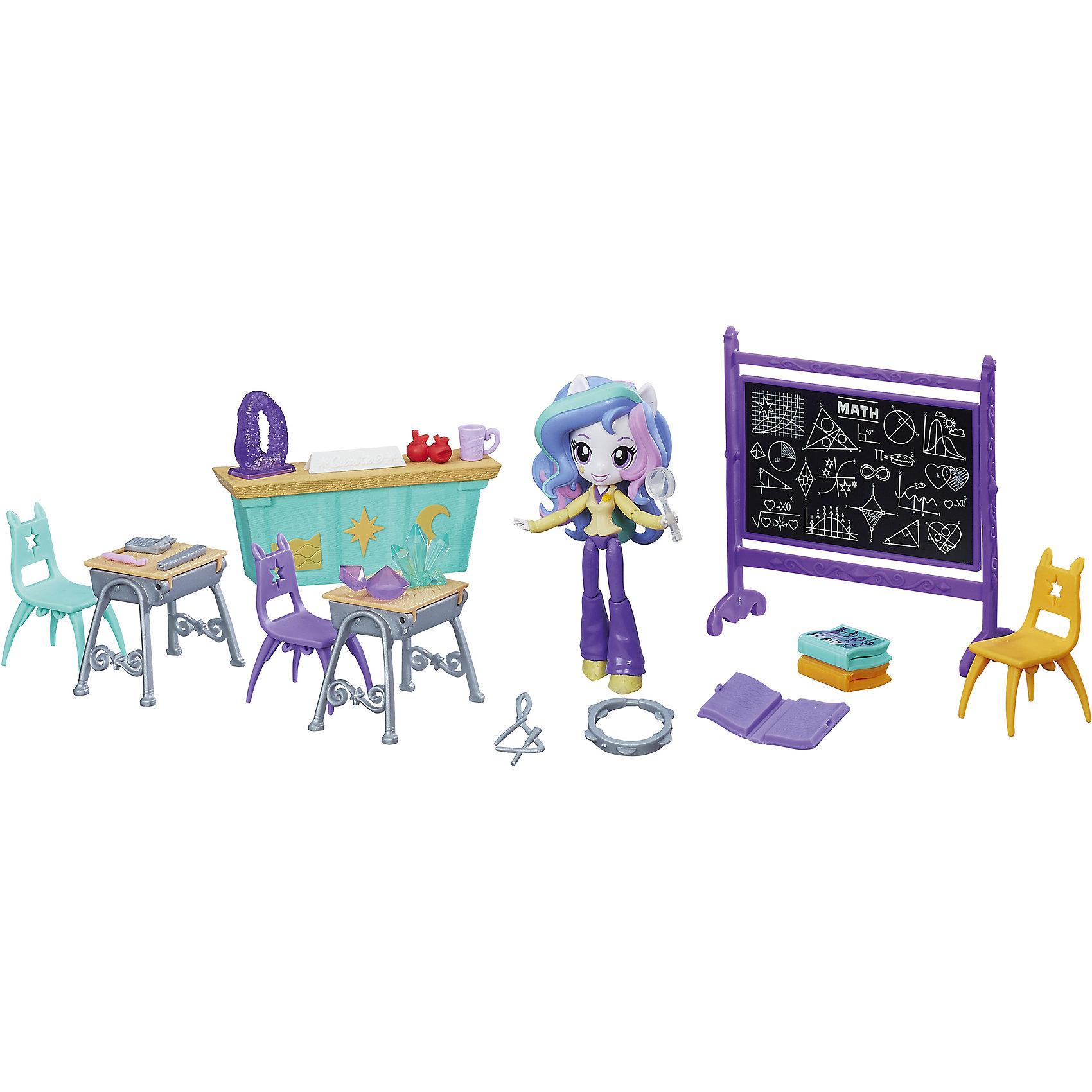 """Hasbro Игровой набор мини-кукол """"Пижамная вечеринка"""", Эквестрия герлз"""