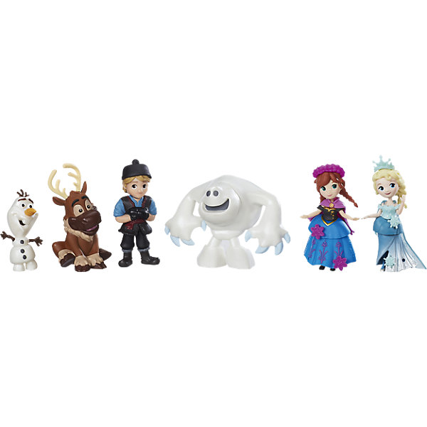 Набор маленьких кукол Холодное сердце для коллекционеров, HasbroФигурки из мультфильмов<br>Характеристики товара: <br><br>• возраст: от 4 лет;<br>• материал: пластик;<br>• в комплекте: 6 фигурок, аксессуары;<br>• размер упаковки: 29х24х5 см;<br>• вес упаковки: 330 гр.;<br>• страна производитель: Китай.<br><br>Набор маленьких кукол «Холодное сердце» Hasbro включает в себя персонажей известного мультфильма Дисней «Холодное сердце»: сестричек Эльзу и Анну, отважного Кристофа, его верного друга оленя Свена, забавного снеговичка Олафа и снежного монстра. У каждой фигурки есть аксессуары для дополнения наряда.<br><br>Набор маленьких кукол «Холодное сердце» Hasbro можно приобрести в нашем интернет-магазине.<br><br>Ширина мм: 251<br>Глубина мм: 304<br>Высота мм: 63<br>Вес г: 328<br>Возраст от месяцев: 48<br>Возраст до месяцев: 96<br>Пол: Женский<br>Возраст: Детский<br>SKU: 4811743
