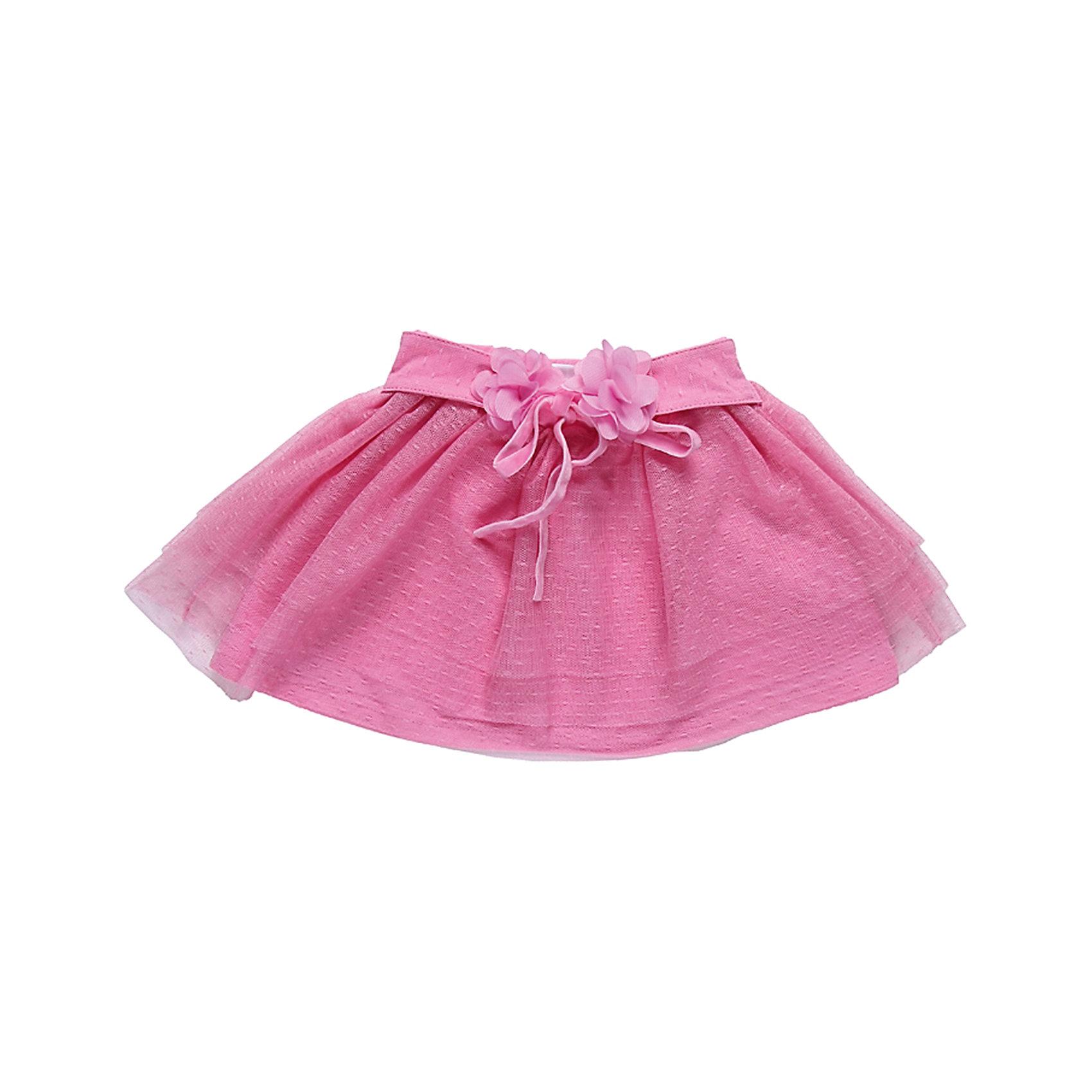 Юбка для девочки Sweet BerryЮбки<br>Юбка для девочки от известного бренда Sweet Berryсивол(10)Модная детская юбка, верх - несколько слоев сетки, низ - мягкий трикотаж.<br>Состав:<br>Верх: 100% полиэстер, Подкладка:  95% хлопок, 5% эластан<br><br>Ширина мм: 207<br>Глубина мм: 10<br>Высота мм: 189<br>Вес г: 183<br>Цвет: розовый<br>Возраст от месяцев: 18<br>Возраст до месяцев: 24<br>Пол: Женский<br>Возраст: Детский<br>Размер: 92,98,86,80<br>SKU: 4812759