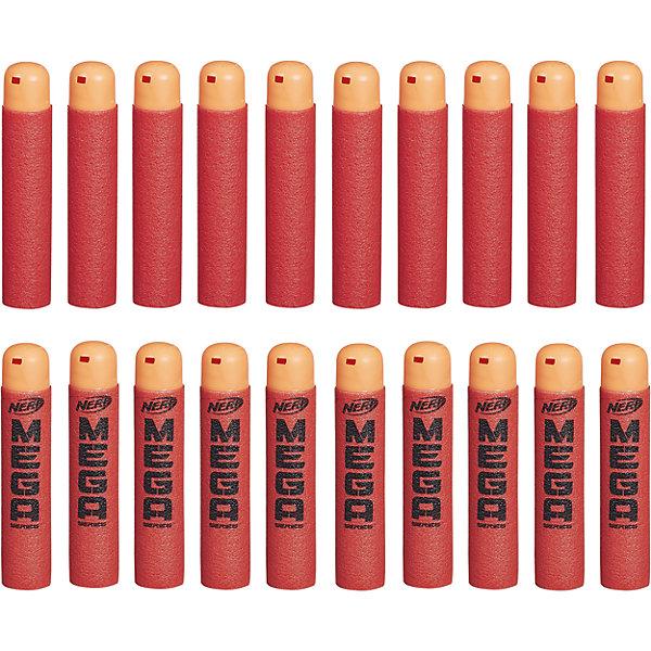 20 стрел МЕГА, NERFИгрушечное оружие<br>Набор из 20 стрел, которые подходят к любому бластеру серии МЕГА.<br><br>Ширина мм: 45<br>Глубина мм: 216<br>Высота мм: 184<br>Вес г: 140<br>Возраст от месяцев: 96<br>Возраст до месяцев: 192<br>Пол: Мужской<br>Возраст: Детский<br>SKU: 4813579