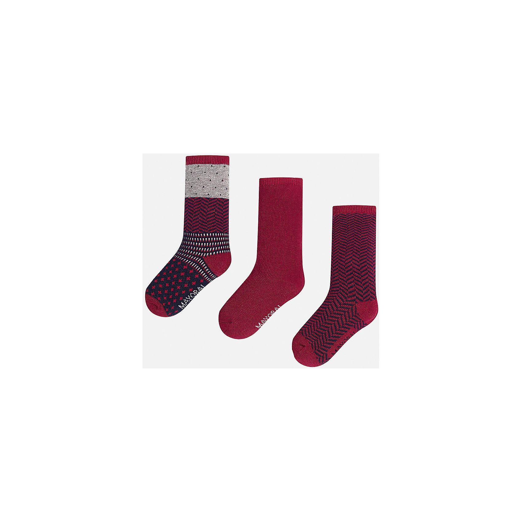 Mayoral Комплект:3 пары носков для мальчика Mayoral набор твое комплект носков