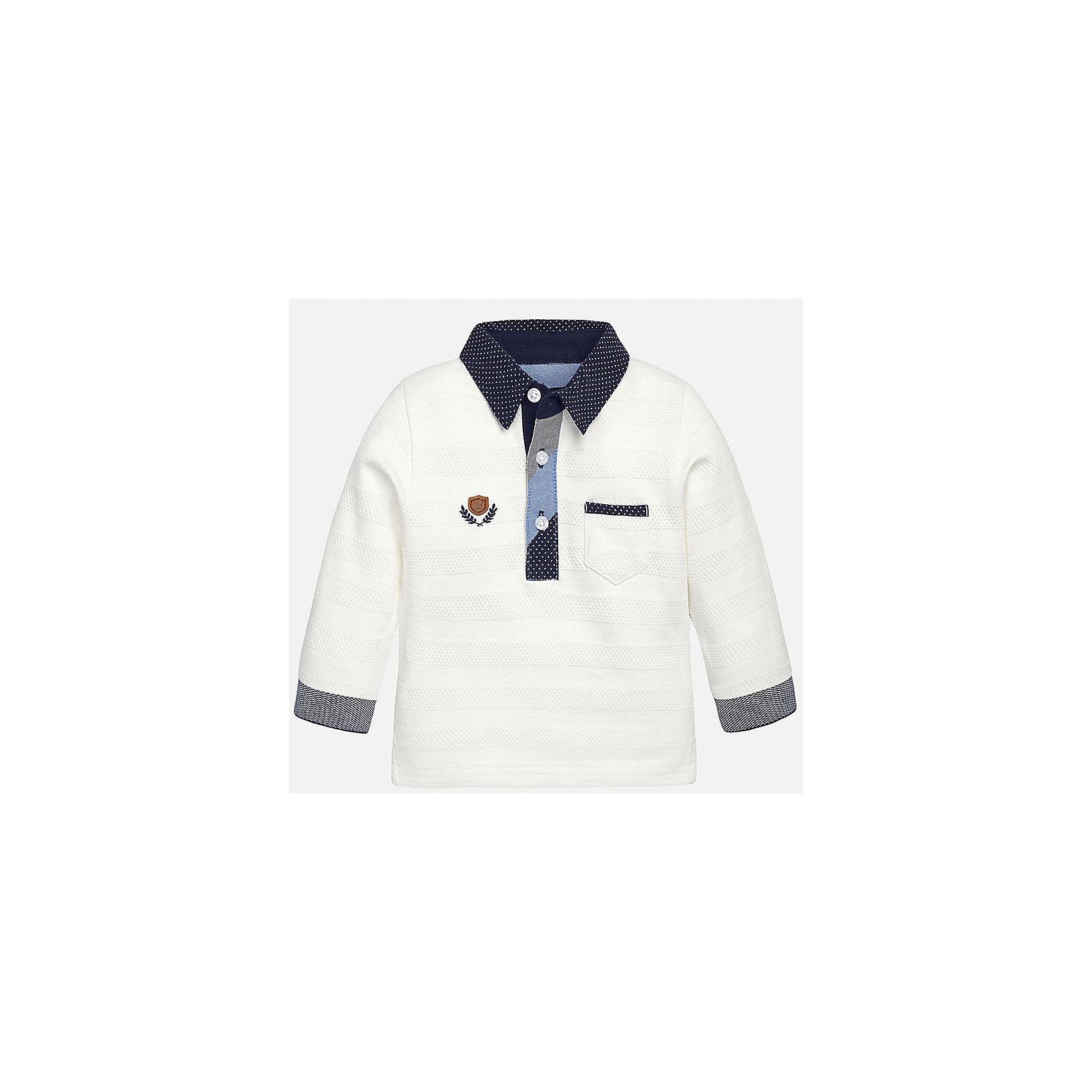 Mayoral Рубашка-поло для мальчика Mayoral рубашка поло printio фк фшм