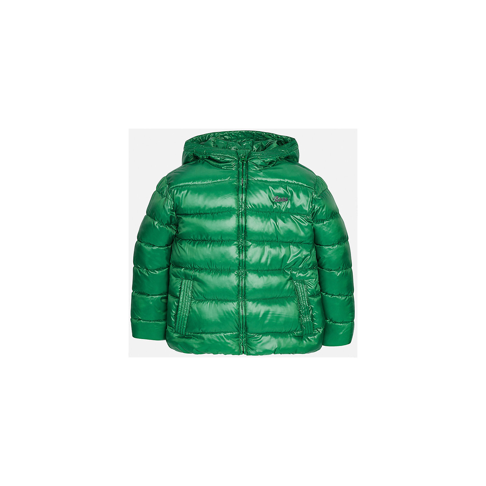 Куртка для мальчика MayoralВерхняя одежда<br>Куртка для мальчика Mayoral (Майорал)<br>Куртка для мальчика от известной испанской марки Mayoral (Майорал) выполнена из водонепроницаемого полиэстера, имеет удобный капюшон, два кармана по бокам. Модель застегивается на молнию, рукава куртки дополнены внутренними манжетами.<br><br>Дополнительная информация:<br><br>- Цвет: зеленый<br>- Верх: 100% полиэстер<br>- Подкладка: 100% полиэстер<br>- Утеплитель: 100% полиэстер<br>- Уход: бережная стирка при 30 градусах<br><br>Куртку для мальчика Mayoral (Майорал) можно купить в нашем интернет-магазине.<br><br>Ширина мм: 356<br>Глубина мм: 10<br>Высота мм: 245<br>Вес г: 519<br>Цвет: разноцветный<br>Возраст от месяцев: 156<br>Возраст до месяцев: 168<br>Пол: Мужской<br>Возраст: Детский<br>Размер: 158,152,140,128,146,164<br>SKU: 4821095