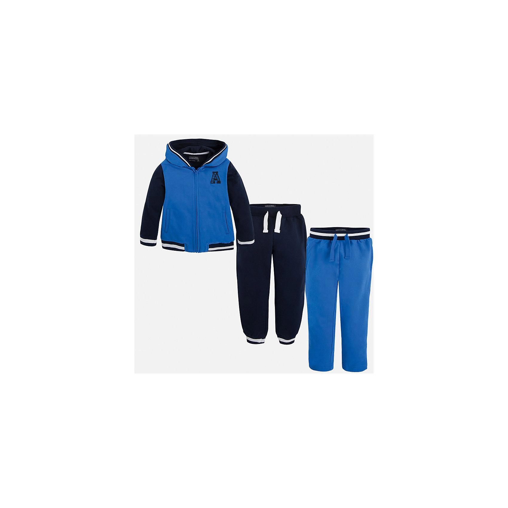Mayoral Спортивный костюм для мальчика Mayoral женские спортивный костюм bosco sport купить