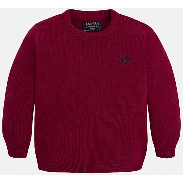 Свитер для мальчика MayoralСвитера и кардиганы<br>Стильный свитер для настоящего джентльмена! У свитера классический крой, поэтому его можно комбинировать с разными вещими и носить в любой сезон.<br><br>Дополнительная информация:<br><br>- Прямой крой.<br>- Страна бренда: Испания.<br>- Состав: хлопок 60%,полиамид 30%,шерсть 10%.<br>- Цвет: бордовый.<br>- Уход: бережная стирка при 30 градусах.<br><br>Купить свитер для мальчика Mayoral можно в нашем магазине.<br><br>Ширина мм: 190<br>Глубина мм: 74<br>Высота мм: 229<br>Вес г: 236<br>Цвет: бордовый<br>Возраст от месяцев: 72<br>Возраст до месяцев: 84<br>Пол: Мужской<br>Возраст: Детский<br>Размер: 122,128,134,98,104,110,116<br>SKU: 4821663