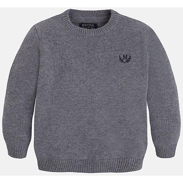Свитер для мальчика MayoralСвитера и кардиганы<br>Стильный свитер для настоящего джентльмена! У свитера классический крой, поэтому его можно комбинировать с разными вещими и носить в любой сезон.<br><br>Дополнительная информация:<br><br>- Прямой крой.<br>- Страна бренда: Испания.<br>- Состав: хлопок 60%,полиамид 30%,шерсть 10%.<br>- Цвет: серый.<br>- Уход: бережная стирка при 30 градусах.<br><br>Купить свитер для мальчика Mayoral можно в нашем магазине.<br>Ширина мм: 190; Глубина мм: 74; Высота мм: 229; Вес г: 236; Цвет: коричневый; Возраст от месяцев: 60; Возраст до месяцев: 72; Пол: Мужской; Возраст: Детский; Размер: 116,128,122,110,98,104,134; SKU: 4821671;