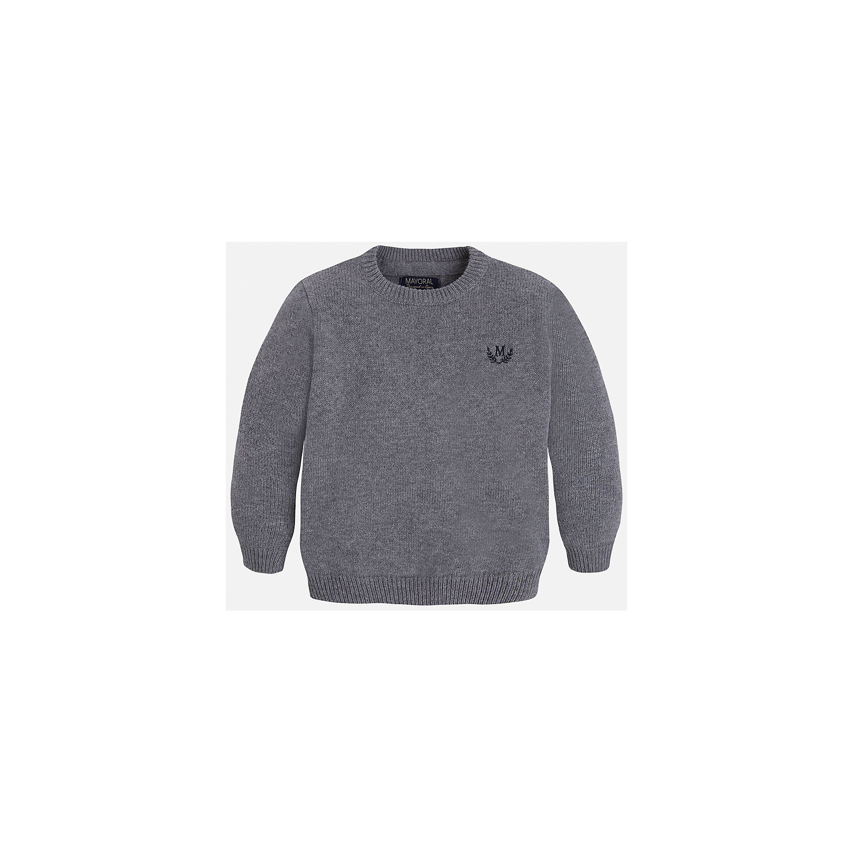 Свитер для мальчика MayoralСвитера и кардиганы<br>Стильный свитер для настоящего джентльмена! У свитера классический крой, поэтому его можно комбинировать с разными вещими и носить в любой сезон.<br><br>Дополнительная информация:<br><br>- Прямой крой.<br>- Страна бренда: Испания.<br>- Состав: хлопок 60%,полиамид 30%,шерсть 10%.<br>- Цвет: серый.<br>- Уход: бережная стирка при 30 градусах.<br><br>Купить свитер для мальчика Mayoral можно в нашем магазине.<br><br>Ширина мм: 190<br>Глубина мм: 74<br>Высота мм: 229<br>Вес г: 236<br>Цвет: коричневый<br>Возраст от месяцев: 36<br>Возраст до месяцев: 48<br>Пол: Мужской<br>Возраст: Детский<br>Размер: 104,134,128,122,116,110,98<br>SKU: 4821671