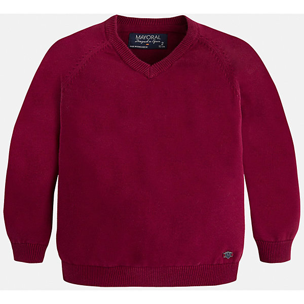 Свитер для мальчика MayoralСвитера и кардиганы<br>Стильный свитер для настоящего джентльмена с V- образным вырезом! У свитера классический крой и красивый вырез, поэтому его можно комбинировать с разными вещими и носить в любой сезон.<br><br>Дополнительная информация:<br><br>- Прямой крой,V- образный вырез. <br>- Страна бренда: Испания.<br>- Состав: хлопок 100%<br>- Цвет: бордовый.<br>- Уход: бережная стирка при 30 градусах.<br><br>Купить свитер для мальчика Mayoral можно в нашем магазине.<br><br>Ширина мм: 190<br>Глубина мм: 74<br>Высота мм: 229<br>Вес г: 236<br>Цвет: бордовый<br>Возраст от месяцев: 48<br>Возраст до месяцев: 60<br>Пол: Мужской<br>Возраст: Детский<br>Размер: 110,128,98,104,116,122,134<br>SKU: 4821679