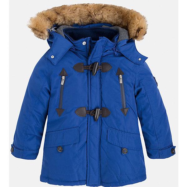 Жакет для мальчика MayoralДемисезонные куртки<br>Скоро осень, а значит Вашему малышу  понадобиться что-нибудь теплое. Значит, Вам прекрасно подойдет яркая, а главное, теплая куртка Mayoral!<br>Порадуйте своего модника хорошим подарком!<br><br>Дополнительная информация:<br><br>- Крой: прямой крой, расклешенный к низу.<br>- Страна бренда: Испания.<br>- Состав: <br>Верхняя ткань: полиэстер 100%.<br>Подкладка: полиэстер 100%.<br>Наполнитель: полиэстер 100%.<br>- Цвет: синий.<br>- Уход: бережная стирка при 30 градусах.<br><br>Купить куртку для мальчика Mayoral можно в нашем магазине.<br>Ширина мм: 190; Глубина мм: 74; Высота мм: 229; Вес г: 236; Цвет: лиловый; Возраст от месяцев: 72; Возраст до месяцев: 84; Пол: Мужской; Возраст: Детский; Размер: 122,128,134,98,104,110,116; SKU: 4821985;