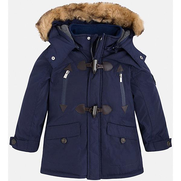 Жакет для мальчика MayoralВерхняя одежда<br>Скоро осень, а значит Вашему малышу  понадобиться что-нибудь теплое. Значит, Вам прекрасно подойдет яркая, а главное, теплая куртка Mayoral!<br>Порадуйте своего модника хорошим подарком!<br><br>Дополнительная информация:<br><br>- Крой: прямой крой, расклешенный к низу.<br>- Страна бренда: Испания.<br>- Состав: <br>Верхняя ткань: полиэстер 100%.<br>Подкладка: полиэстер 100%.<br>Наполнитель: полиэстер 100%.<br>- Цвет: темно-синий.<br>- Уход: бережная стирка при 30 градусах.<br><br>Купить куртку для мальчика Mayoral можно в нашем магазине.<br>Ширина мм: 190; Глубина мм: 74; Высота мм: 229; Вес г: 236; Цвет: синий; Возраст от месяцев: 96; Возраст до месяцев: 108; Пол: Мужской; Возраст: Детский; Размер: 128,110,98,104,116,134,122; SKU: 4821993;