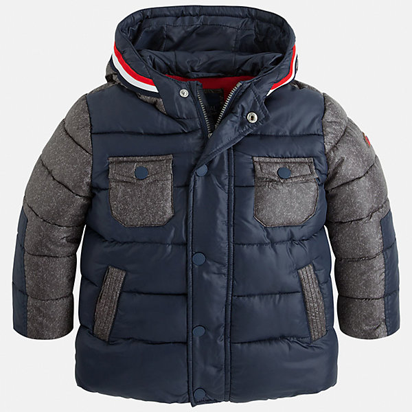 Куртка для мальчика MayoralВерхняя одежда<br>Стильная осенняя куртка для Вашего модника!<br>Куртка практична и удобна в носке. <br>Порадуйте своего юного модника таким чудесным подарком!<br><br>Дополнительная информация:<br><br>- Крой: прямой крой.<br>- Страна бренда: Испания.<br>- Состав: <br>Верхняя ткань: полиэстер 100%.<br>Подкладка: полиэстер 100%.<br>Наполнитель: полиэстер 100%.<br>- Цвет: синий.<br>- Уход: бережная стирка при 30 градусах.<br><br>Купить куртку для мальчика Mayoral можно в нашем магазине.<br><br>Ширина мм: 356<br>Глубина мм: 10<br>Высота мм: 245<br>Вес г: 519<br>Цвет: синий<br>Возраст от месяцев: 96<br>Возраст до месяцев: 108<br>Пол: Мужской<br>Возраст: Детский<br>Размер: 128,122,134,98,104,110,116<br>SKU: 4822035
