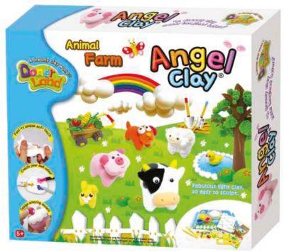 Игровой набор для лепки из глины Animal Farm , Angel Clay