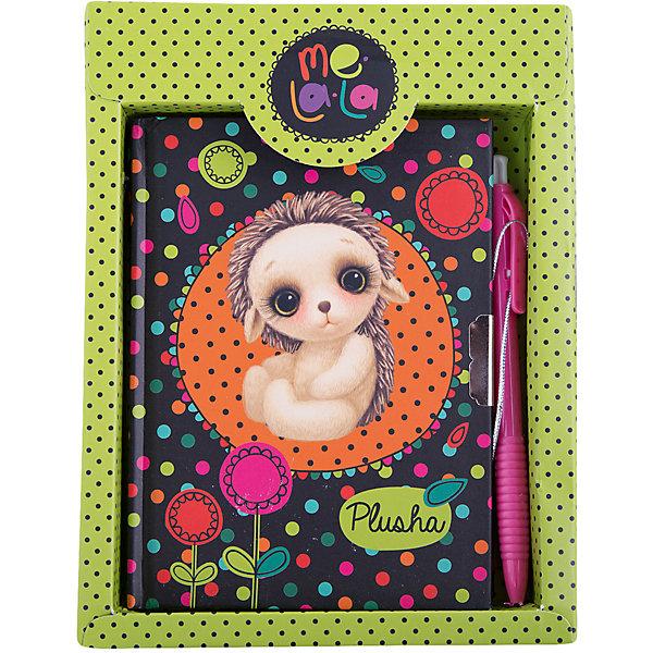 Набор с дневничком и ручкой Ёжик Plusha, MelalaБумажная продукция<br>Это красочный дневник салатового цвета, на обложке которого изображен милый зверек с большими глазами. <br>Порадуйте свою малышку таким милым подарком!<br><br>В наборе: <br>- Блокнот.<br>- Ручка.<br><br>Дополнительная информация:<br><br>- Возраст: от 3 лет.<br>- Размер упаковки: 15х20х3 см.<br>- Вес в упаковке: 90 г.<br><br>Купить набор с дневником и ручкой Ёжик Plusha от  Melala можно в нашем магазине.<br>Ширина мм: 150; Глубина мм: 200; Высота мм: 30; Вес г: 90; Возраст от месяцев: 36; Возраст до месяцев: 108; Пол: Женский; Возраст: Детский; SKU: 4823387;