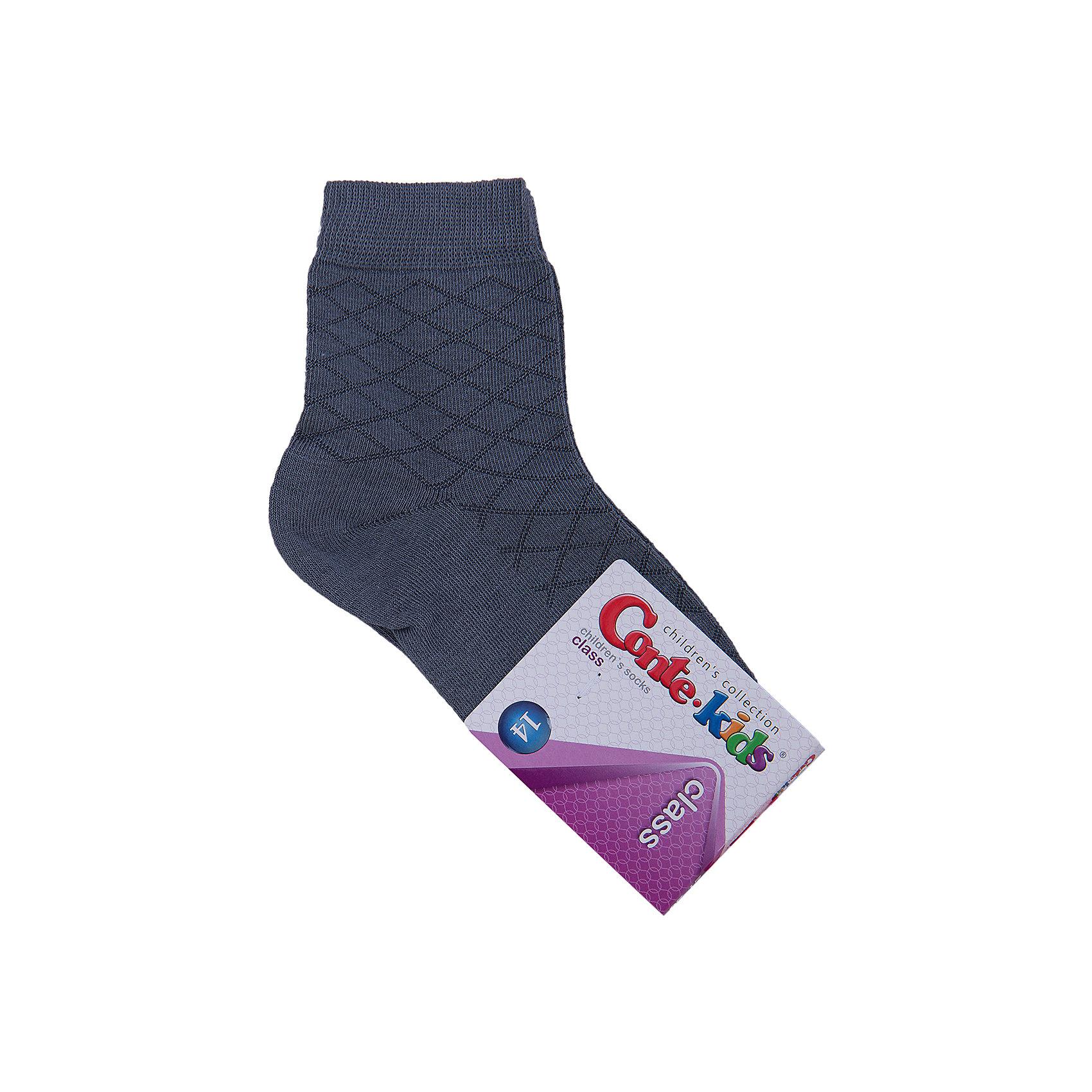 Носки  Conte-kidsДетские носки известной марки Conte-kids.<br>- Мягкие,  эластичные,  удобные и практичные.<br>- От белорусского производителя. <br>- Для девочек и мальчиков. <br><br>Состав: 50% - хлопок, 47,2% - полиамид, 2,8% - эластан.<br><br>Ширина мм: 87<br>Глубина мм: 10<br>Высота мм: 105<br>Вес г: 115<br>Цвет: серый<br>Возраст от месяцев: 36<br>Возраст до месяцев: 48<br>Пол: Унисекс<br>Возраст: Детский<br>Размер: 14<br>SKU: 4823964