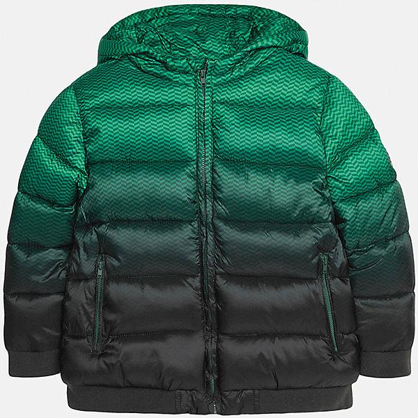 Куртка для мальчика MayoralВерхняя одежда<br>Куртка для мальчика от популярного испанского бренда Mayoral(Майорал). Куртка водонепроницаемая, застегивается на молнию. Спереди есть 2 удобных кармана. Стильный дизайн с эффектом градиент понравится юному моднику!<br><br>Дополнительная информация:<br>Состав: 100% полиэстер<br>Цвет: зеленый/черный<br>Куртку Mayoral(Майорал) можно приобрести в нашем интернет-магазине.<br>Ширина мм: 356; Глубина мм: 10; Высота мм: 245; Вес г: 519; Цвет: белый; Возраст от месяцев: 144; Возраст до месяцев: 156; Пол: Мужской; Возраст: Детский; Размер: 152/158,128/134,164/170,146/152,158/164,140/146; SKU: 4827113;