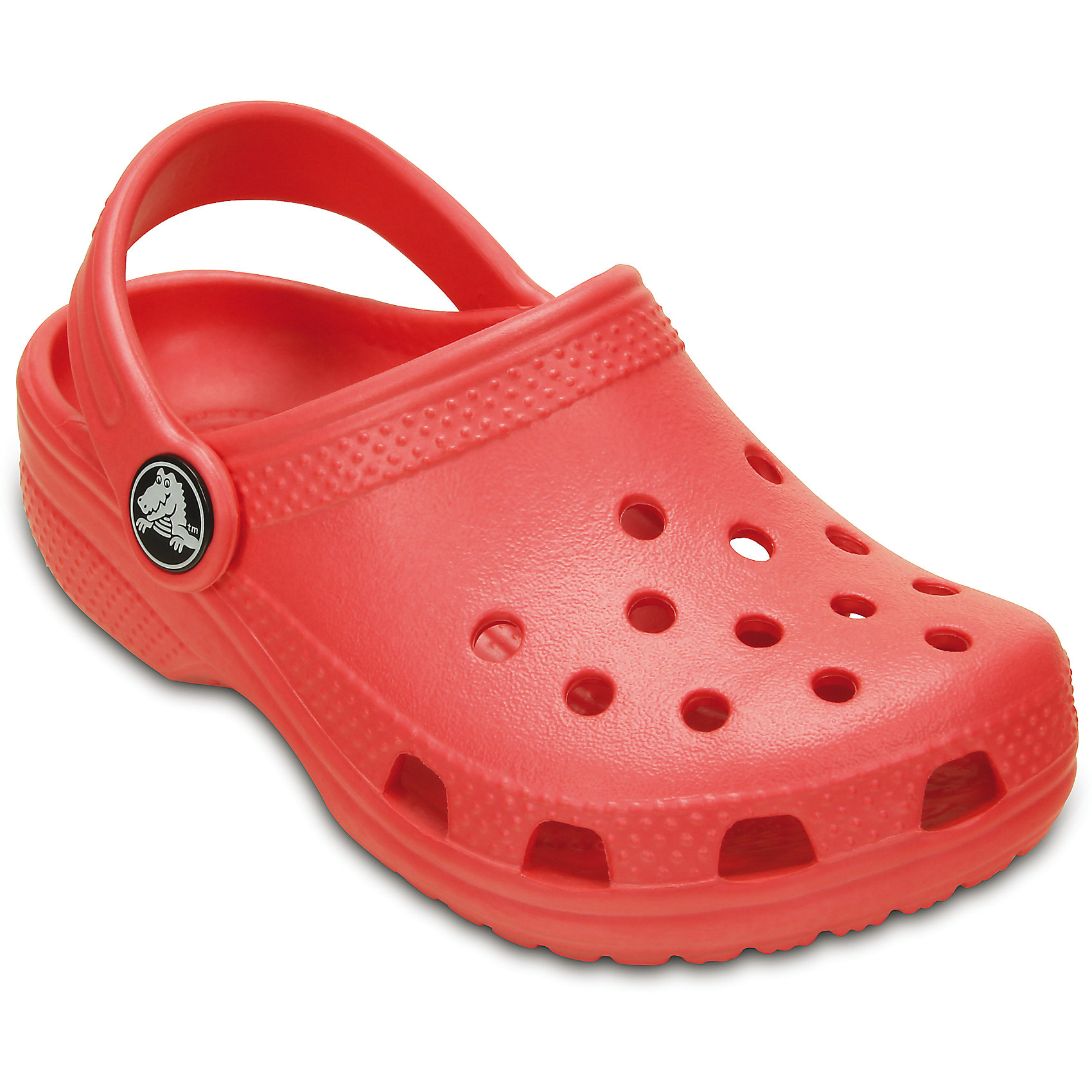 Сабо Classic Kids для девочки CrocsПляжная обувь<br>Характеристики товара:<br><br>• цвет: красный<br>• материал: 100% полимер Croslite™<br>• литая модель<br>• вентиляционные отверстия<br>• бактериостатичный материал<br>• пяточный ремешок фиксирует стопу<br>• толстая устойчивая подошва<br>• отверстия для использования украшений<br>• анатомическая стелька с массажными точками стимулирует кровообращение<br>• страна бренда: США<br>• страна изготовитель: Китай<br><br>Для правильного развития ребенка крайне важно, чтобы обувь была удобной. Такие сабо обеспечивают детям необходимый комфорт, а анатомическая стелька с массажными линиями для стимуляции кровообращения позволяет ножкам дольше не уставать. Сабо легко надеваются и снимаются, отлично сидят на ноге. Материал, из которого они сделаны, не дает размножаться бактериям, поэтому такая обувь препятствует образованию неприятного запаха и появлению болезней стоп. <br>Обувь от американского бренда Crocs в данный момент завоевала широкую популярность во всем мире, и это не удивительно - ведь она невероятно удобна. Её носят врачи, спортсмены, звёзды шоу-бизнеса, люди, которым много времени приходится бывать на ногах - они понимают, как важна комфортная обувь. Продукция Crocs - это качественные товары, созданные с применением новейших технологий. Обувь отличается стильным дизайном и продуманной конструкцией. Изделие производится из качественных и проверенных материалов, которые безопасны для детей.<br><br>Сабо для девочки от торговой марки Crocs можно купить в нашем интернет-магазине.<br><br>Ширина мм: 225<br>Глубина мм: 139<br>Высота мм: 112<br>Вес г: 290<br>Цвет: красный<br>Возраст от месяцев: 60<br>Возраст до месяцев: 72<br>Пол: Унисекс<br>Возраст: Детский<br>Размер: 29/30,34/35,35/36,27/28,23/24,25/26,33/34<br>SKU: 4828042