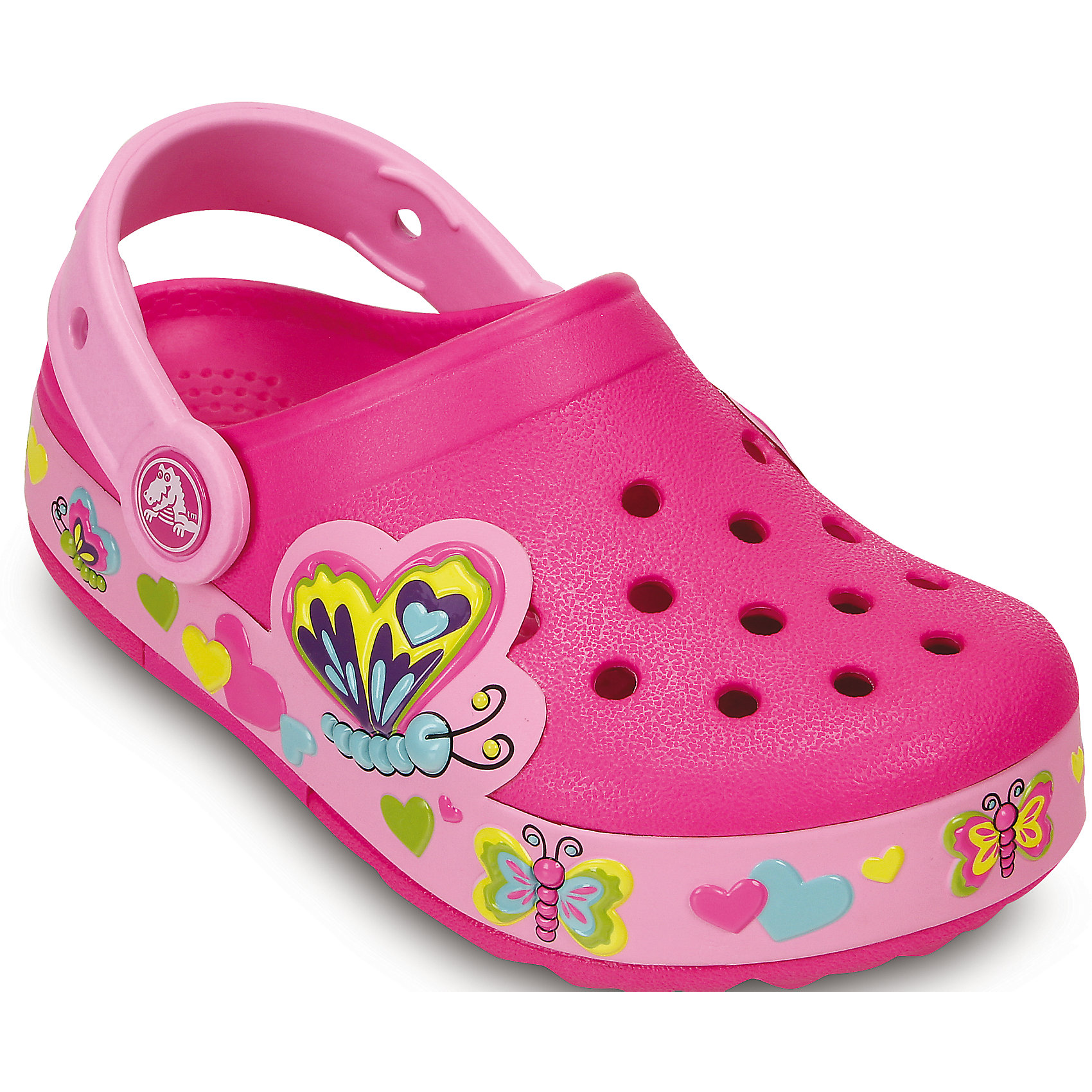 Сабо CrocsLights Butterfly Clog для девочки Crocs