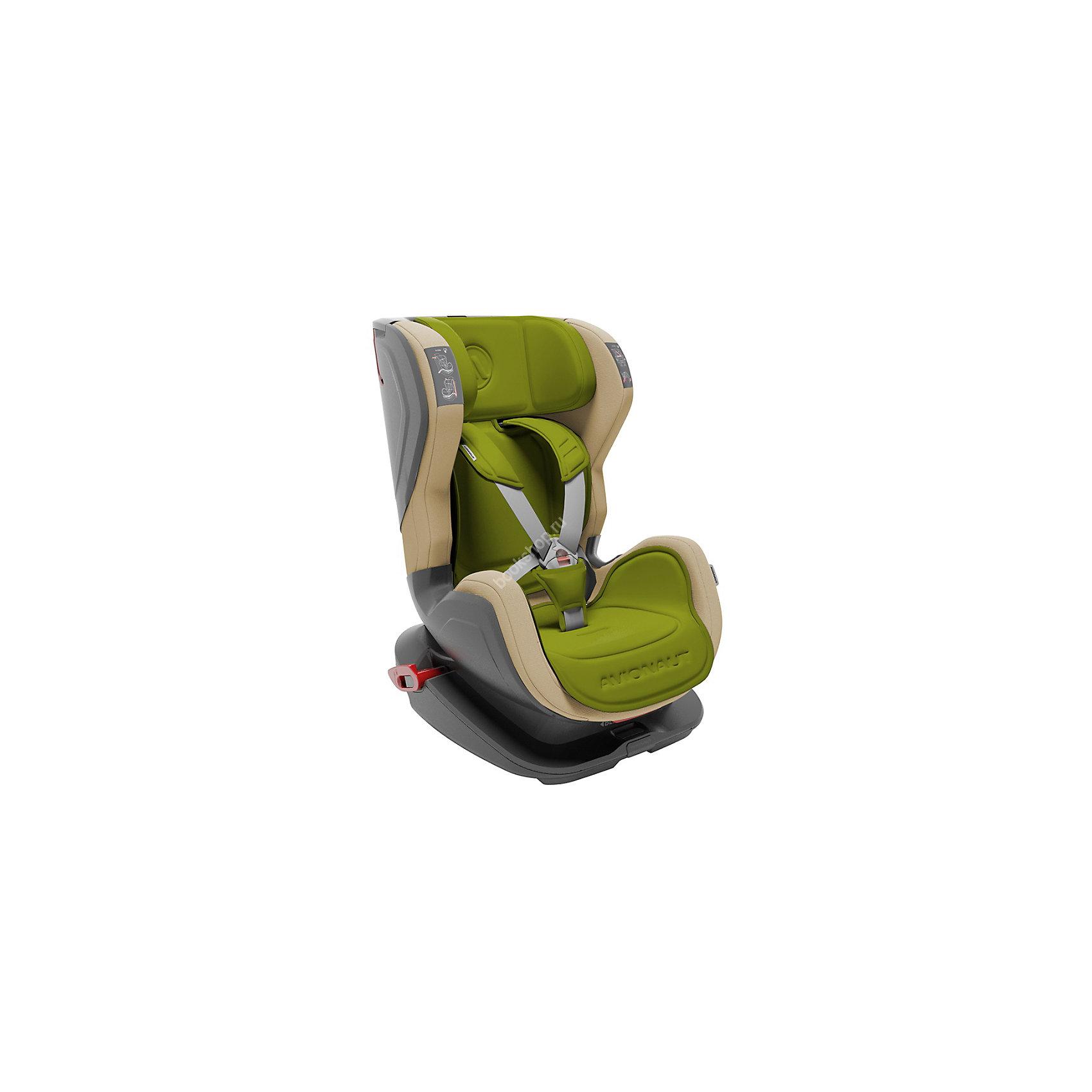 Автокресло Avionaut GLIDER 9-25 кг, оливковый/бежевыйГруппа 1-2 (От 9 до 25 кг)<br>Детское автокресло Avionaut GLIDER не только защищает ребенка в дороге, но и имеет привлекательный дизайн! Автокресло имеет специальные съемные вкладыши, которые позволяют с легкостью изменить цвет. А  пятиточечные ремни безопасности позволят зафиксировать ребенка и защитить его при дорожных происшествиях. <br><br>Характеристики:<br>- Группа: 1-2 (от 9 до 25кг).<br>- 5-ти точечная система ремней безопасности.<br>- Усиленные боковины для большей безопасности.<br>- Регулируемый угол наклона сиденья.<br>- Аварийные натяжители ремней безопасности для лучшей стабилизации сиденья в автомобиле.<br>- Съемные чехлы на сиденье.<br>- Регулируемая высота подголовника.<br>- Легко крепится в салоне автомобиля.<br>- Съемные вкладыши - позволяют изменить цвет автокресла.<br>- Вид крепления: штатным ремнем автомобиля.<br>- Способ установки: на заднем сиденье лицом по ходу движения.<br>- Ребенок фиксируется: <br>от 9 до 18 кг: внутренним пятиточечным ремнем.<br>от 15 до 25 кг: штатным трехточечным ремнем автомобиля. <br><br>Дополнительная информация:<br><br>- Возраст: от 9 месяцев до 7 лет.<br>- Материал: пластик, текстиль.<br>- Цвет: оливковый/бежевый.<br>- Размер упаковки: 44x66x53 см.<br>- Вес в упаковке: 8.150 кг.<br><br>Купить автокресло GLIDER Avionaut в цвете оливковый/бежевый, можно в нашем магазине.<br><br>Ширина мм: 440<br>Глубина мм: 660<br>Высота мм: 530<br>Вес г: 8150<br>Возраст от месяцев: 12<br>Возраст до месяцев: 84<br>Пол: Унисекс<br>Возраст: Детский<br>SKU: 4828294