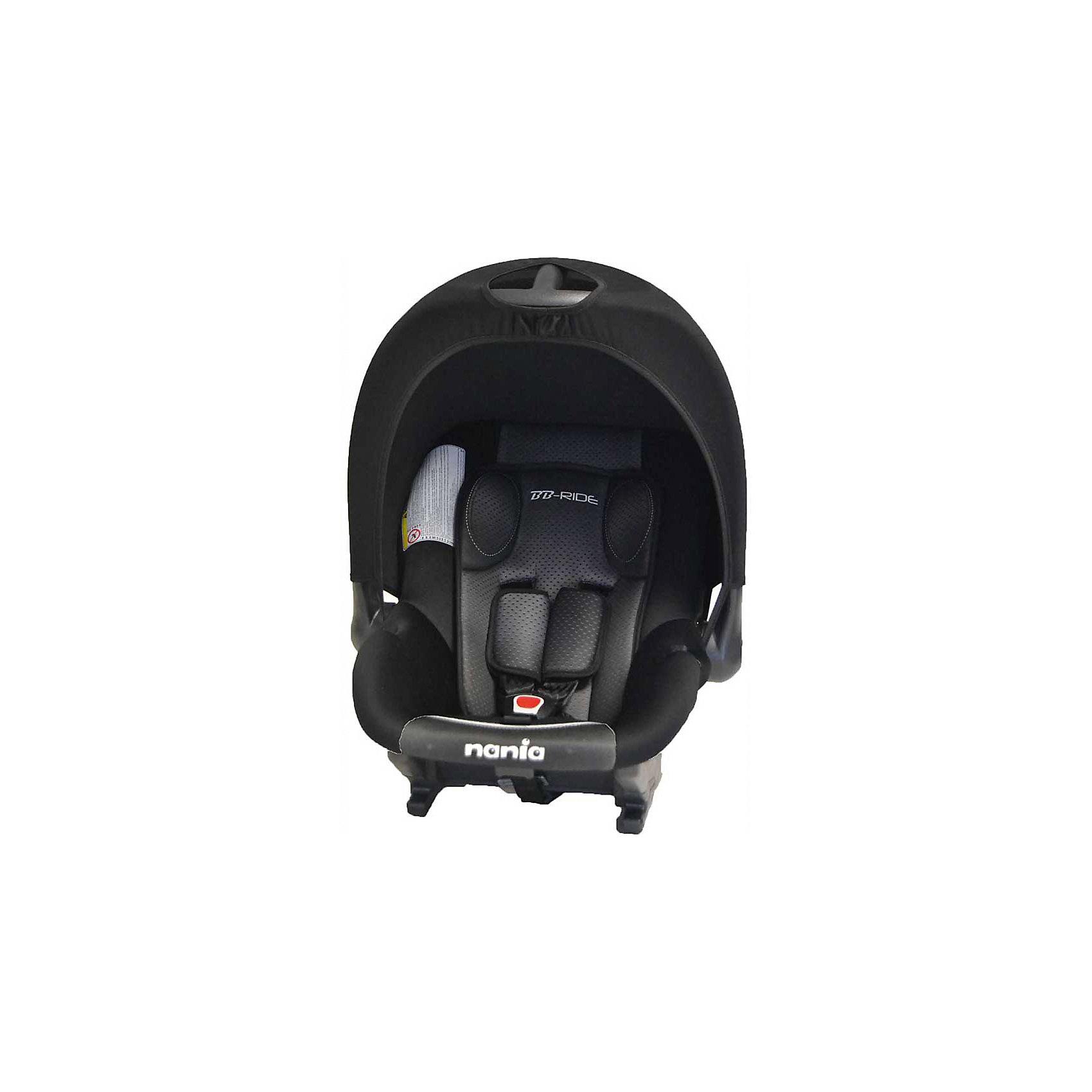 Автокресло Baby Ride 0-13 кг, GRAPHIC, Nania, черный/белыйЭто прекрасное автокресло может стать первым попутчиком Вашего малыша во время автомобильных прогулок!<br>Прочный каркас анатомической формы обеспечит сто процентную защиту малыша. А пятиточечные ремни безопасности с 3 -мя уровнями регулировки по высоте и мягкими плечевыми накладками дополнительно будут защищать ребенка.<br><br>Характеристики:<br>- Группа: 0+( от 0 до 13кг).<br>- 3-точечные ремни безопасности с центральной регулировкой.<br>- Спинка не регулируется.<br>- Съемные и моющиеся чехлы.<br>- Вид крепления: штатным ремнем автомобиля.<br>- Способ установки: на заднем сиденье лицом против направления движения  и на переднем сиденье только в том случае, если подушка безопасности отключена.<br><br>Дополнительная информация:<br><br>- Возраст: от 0 до 9 месяцев.<br>- Материал: пластик, текстиль.<br>- Цвет: черный/белый.<br>- Размер упаковки: 65х44х30 см.<br>- Вес в упаковке: 2650 кг.<br><br>Купить автокресло Baby Ride GRAPHIC, Nania, в цвете черный/белый,  можно в нашем магазине.<br><br>Ширина мм: 650<br>Глубина мм: 440<br>Высота мм: 300<br>Вес г: 2650<br>Возраст от месяцев: 0<br>Возраст до месяцев: 12<br>Пол: Унисекс<br>Возраст: Детский<br>SKU: 4828299