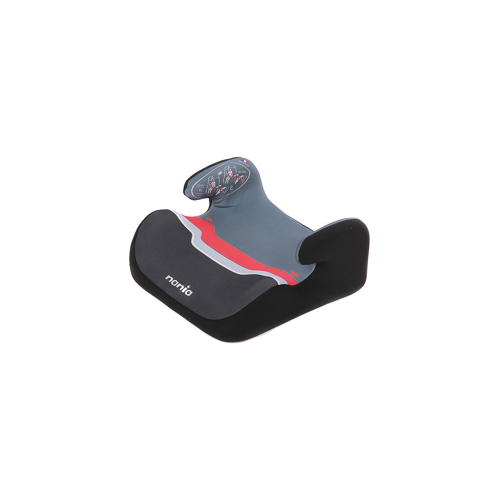 Бустер TOPO COMFORT 18-36 кг, PAPRIKA ECO HORIZON, Nania, красныйЭто простое в установке, практичное и удобное кресло-бустер для автомобиля. <br>Благодаря компактным размерам  бустер легко устанавливать и переносить. <br>Малыш будет чувствовать себя безопасно и уютно в таком бустере!<br>Бустер рекомендовано использовать для детей весом от 18 до 36 кг.<br><br>Характеристики:<br>- Группа: 2/3 (от 18 до 36кг).<br>- Съемные и моющиеся чехлы.<br>- Вид крепления: штатным ремнем автомобиля.<br>- Способ установки: только на задним сиденье лицом по направлению движения.<br><br>Дополнительная информация:<br><br>- Возраст: от 4 до 10 лет.<br>- Материал: пластик, текстиль.<br>- Цвет: красный.<br>- Размер упаковки: 39х43х14 см.<br>- Вес в упаковке: 2120 г.<br><br>Купить бустер TOPO COMFORT 18-36 кг, PAPRIKA ECO HORIZON, Nania, в красном цвете, можно в нашем магазине.<br><br>Ширина мм: 390<br>Глубина мм: 430<br>Высота мм: 140<br>Вес г: 2120<br>Возраст от месяцев: 36<br>Возраст до месяцев: 144<br>Пол: Унисекс<br>Возраст: Детский<br>SKU: 4828315