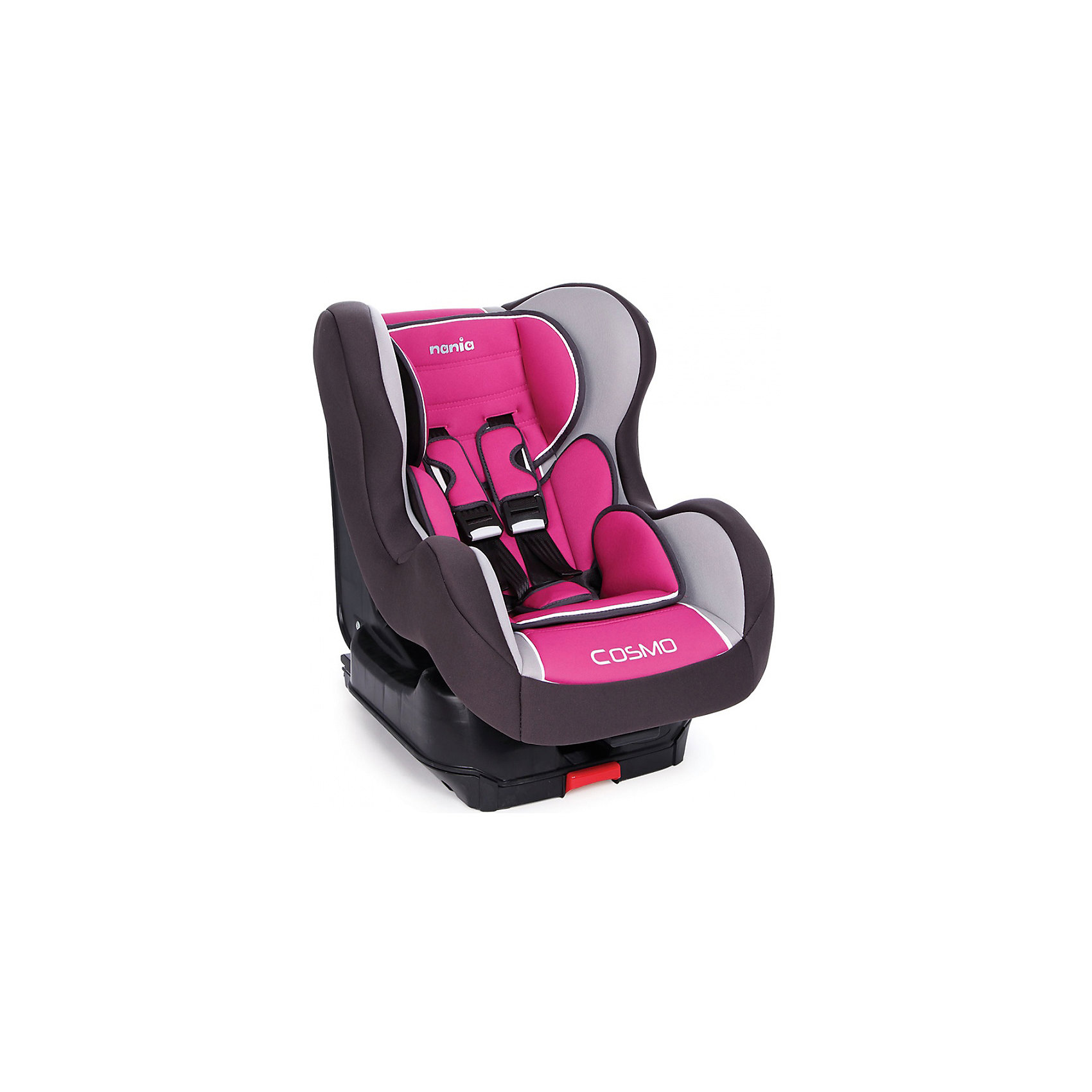 Автокресло COSMO SP isofix 9-18 кг, AGORA FRAMBOISE, Nania, розовыйАвтокресло обеспечит сто процентную безопасность и комфортную посадку ребенка в автомобиле!<br>К сиденью кресло крепится автомобильными ремнями, а также имеет собственные пятиточечные ремни безопасности. У спинки кресла есть возможность регулировать наклон и имеются противоударные боковые стенки. <br>При необходимости чехол легко снимается и стирается.<br><br>Характеристики:<br>- Группа 0+/1 ( от 9 до 18 кг).  <br>- Установка лицом по ходу движения на заднем сиденье. <br>- Способ крепления в автомобиле Isofix. <br>- Спинка сиденья имеет 5 положений наклона. <br>- Дополнительные подушки 2 шт. <br>- 5-точечные ремни, со звуковым оповещением. <br>- Приятный материал ткани обивки.<br><br>Дополнительная информация:<br><br>- Возраст: от 0 до 4 лет.<br>- Материал: пластик, текстиль.<br>- Цвет: розовый.<br>- Размер упаковки: 60х50х70 см.<br>- Вес в упаковке: 11030 г.<br><br>Купить автокресла COSMO SP isofix 9-18 кг, AGORA FRAMBOISE, в розовом цвете, можно в нашем магазине.<br><br>Ширина мм: 600<br>Глубина мм: 500<br>Высота мм: 700<br>Вес г: 11030<br>Возраст от месяцев: 9<br>Возраст до месяцев: 36<br>Пол: Женский<br>Возраст: Детский<br>SKU: 4828316