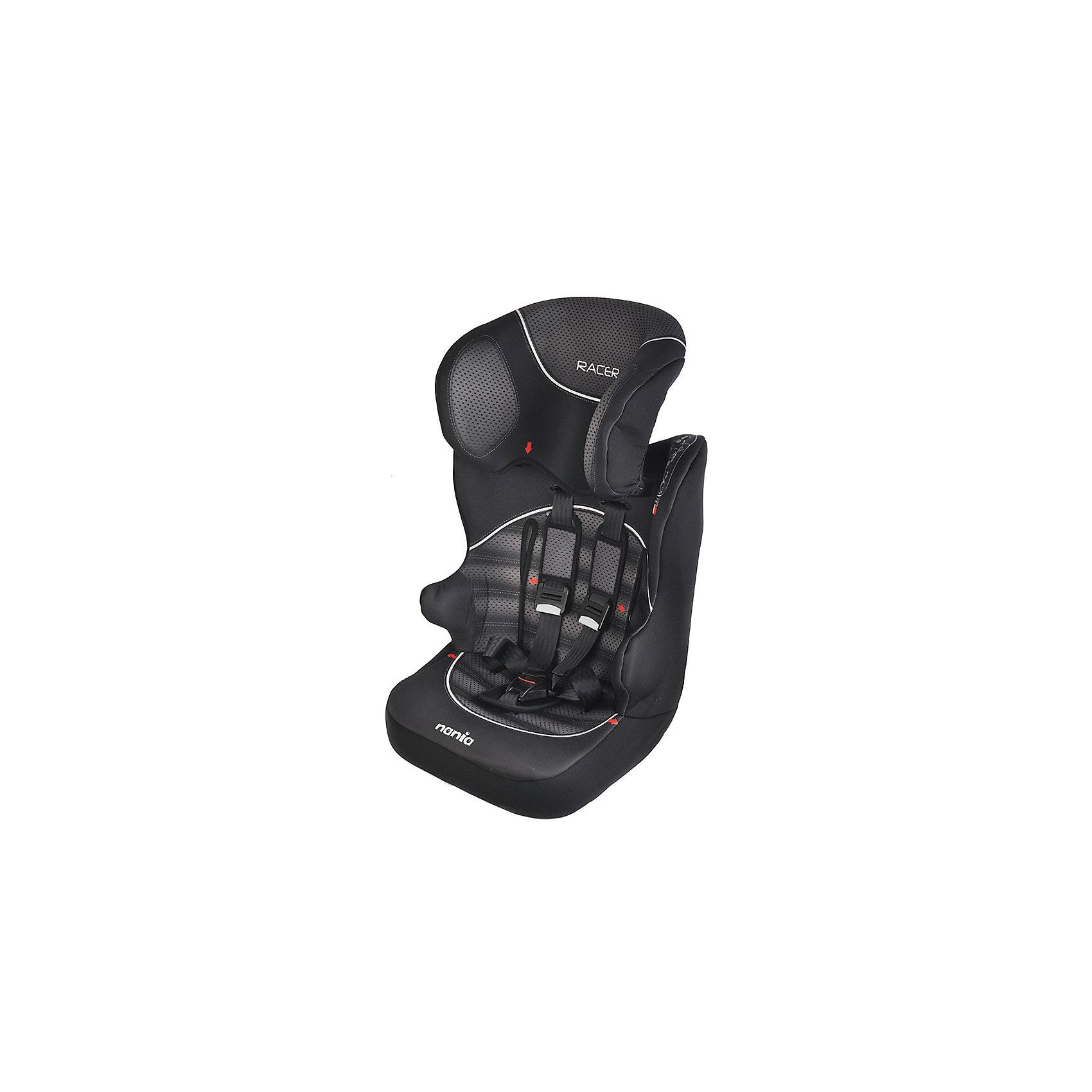Автокресло RAСER SP 9-36 кг, GRAPHIC, Nania, черный