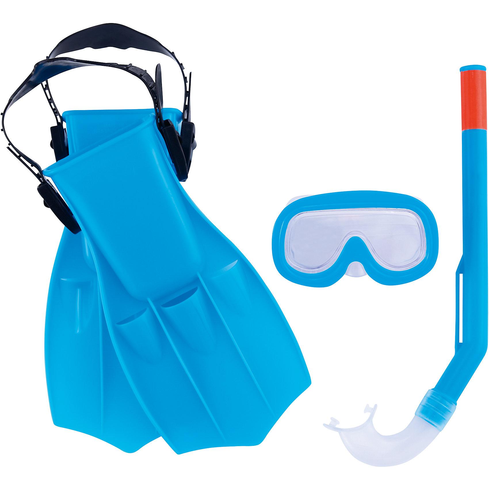Bestway Набор для ныряния Play Pro детский, Bestway, синий bestway bestway steel pro frame 56416 56062