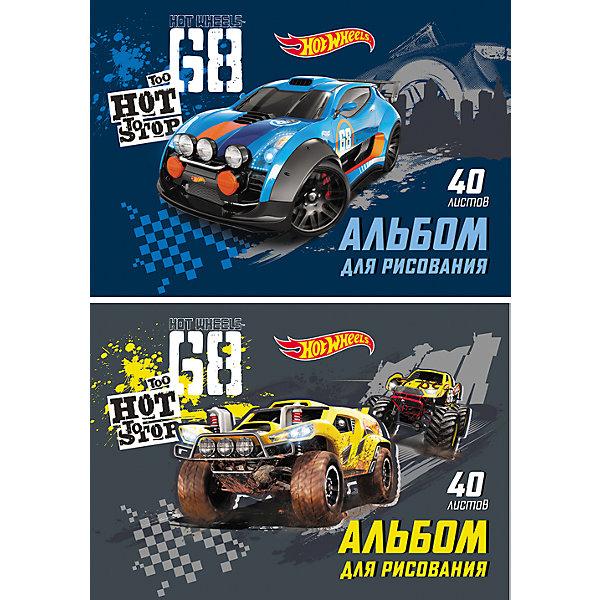 Альбом для рисования Hot Wheels Racing, А4, 40 л.Бумажная продукция<br><br><br>Ширина мм: 299<br>Глубина мм: 210<br>Высота мм: 7<br>Вес г: 350<br>Возраст от месяцев: 36<br>Возраст до месяцев: 2147483647<br>Пол: Мужской<br>Возраст: Детский<br>SKU: 4833195