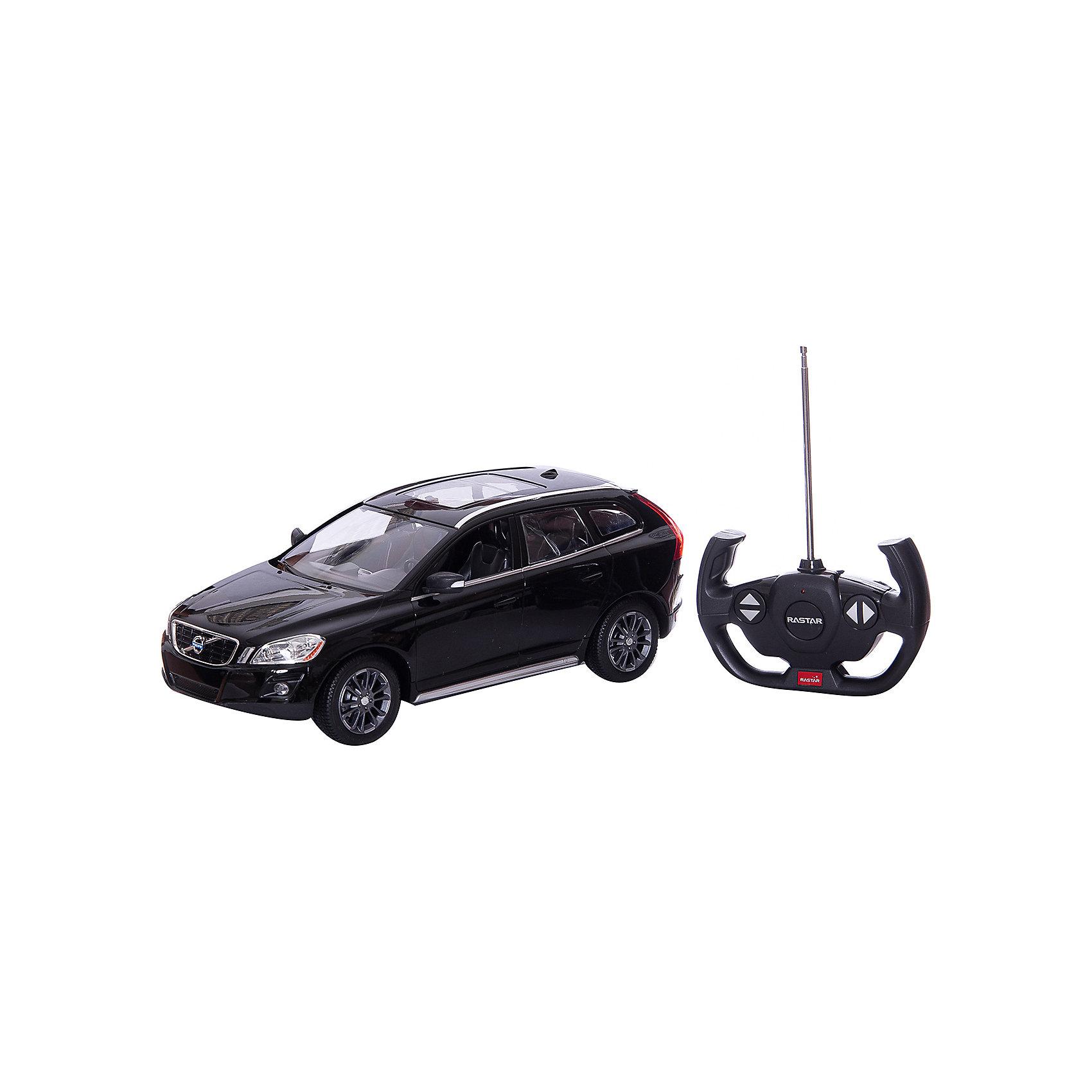 - RASTAR Радиоуправляемая машина Volvo XC60 1:14, черная nikko машина радиоуправляемая bumblebee streetcar