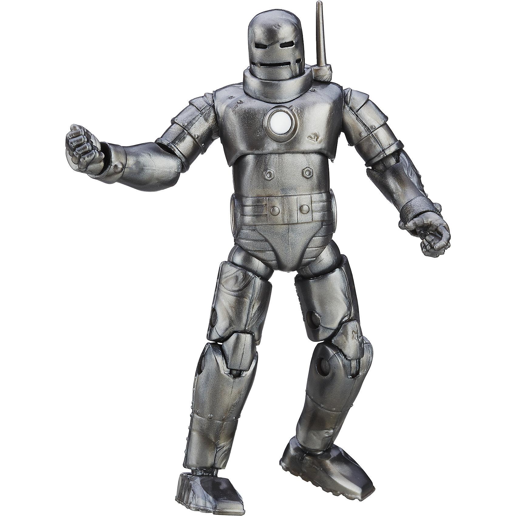 Коллекционная фигурка Мстителей 9,5 см., B6356/B6406Коллекционная фигурка Мстителей, Hasbro, станет приятным сюрпризом для Вашего ребенка, особенно если он является поклонником популярных фильмов о супергероях Мстители. Фигурка героя выполнена с высокой степенью детализации и полностью повторяет своего экранного персонажа. Теперь можно разыгрывать по-настоящему масштабные сражения с любимыми героями. Фигурка изготовлена из высококачественных безопасных для детского здоровья материалов, имеет подвижные части тела. В каждый набор входит только одна фигурка персонажа. Собранные вместе они составят замечательную и оригинальную коллекцию.  Дополнительная информация:  - Материал: пластик. - Размер фигурки: 9,5 см. - Размер упаковки: 12 х 4 х 23 см.  - Вес: 0,15 кг.   Коллекционную фигурку Мстителей 9,5 см., Hasbro, можно купить в нашем интернет-магазине.<br><br>Ширина мм: 229<br>Глубина мм: 51<br>Высота мм: 121<br>Вес г: 1413<br>Возраст от месяцев: 48<br>Возраст до месяцев: 144<br>Пол: Мужской<br>Возраст: Детский<br>SKU: 4833577