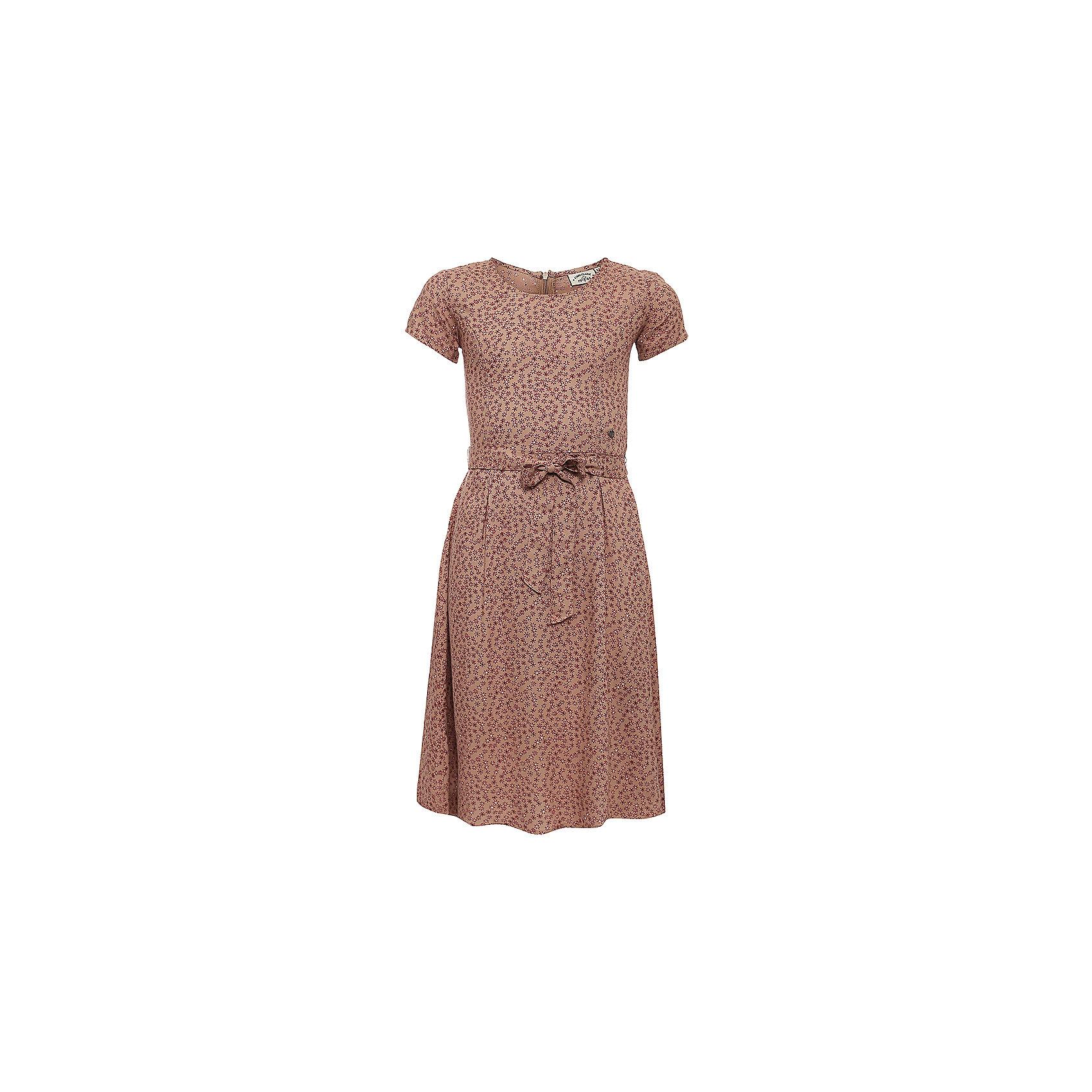 Платье для девочки Finn FlareПлатье для девочки от известного бренда Finn Flare<br>Фактура материала:Текстильный<br>Вид застежки:Молния<br> Длина рукава:Короткие<br> Тип карманов:Без карманов<br>Состав:<br>100% вискоза<br><br>Ширина мм: 236<br>Глубина мм: 16<br>Высота мм: 184<br>Вес г: 177<br>Цвет: коричневый<br>Возраст от месяцев: 72<br>Возраст до месяцев: 84<br>Пол: Женский<br>Возраст: Детский<br>Размер: 122,134,146,158,110<br>SKU: 4835245