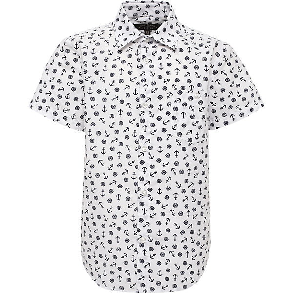 Рубашка для мальчика Finn FlareБлузки и рубашки<br>Рубашка для мальчика от известного бренда Finn Flare<br>Фактура материала:Текстильный<br>Вид застежки:Пуговицы<br> Длина рукава:Короткие<br> Тип карманов:Накладные<br>Состав:<br>60% хлопок, 40% полиэстер<br><br>Ширина мм: 174<br>Глубина мм: 10<br>Высота мм: 169<br>Вес г: 157<br>Цвет: белый<br>Возраст от месяцев: 144<br>Возраст до месяцев: 156<br>Пол: Мужской<br>Возраст: Детский<br>Размер: 158,110,146,134,122<br>SKU: 4835682