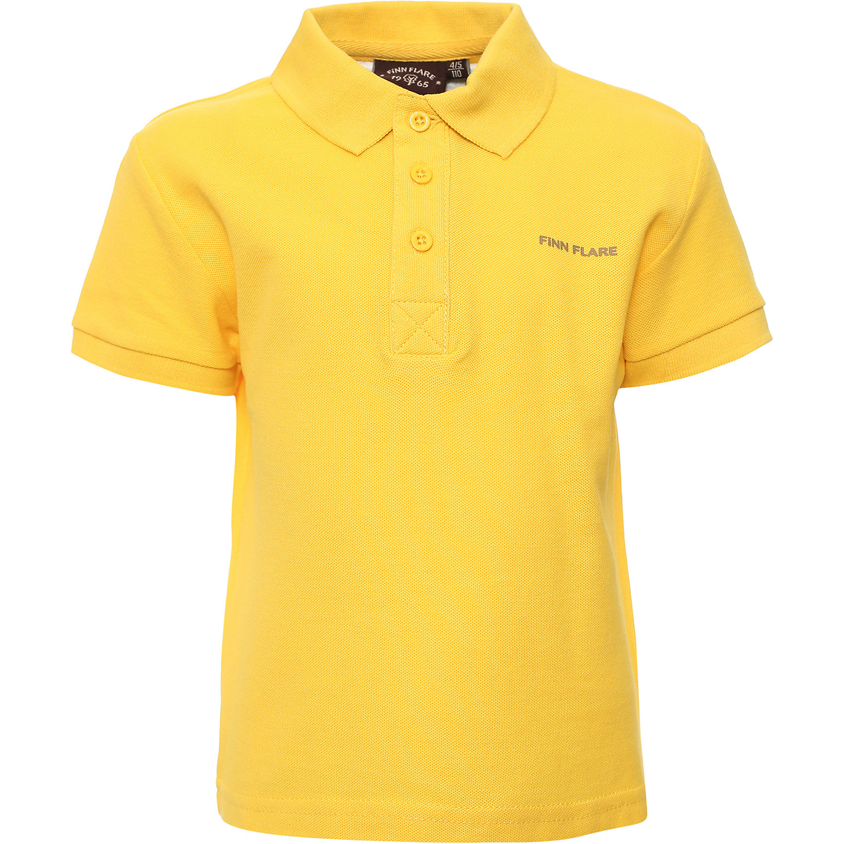 Рубашка для мальчика Finn FlareРубашка для мальчика от известного бренда Finn Flare<br>Фактура материала:Трикотажный<br>Вид застежки:Пуговицы<br> Длина рукава:Короткие<br> Тип карманов:Без карманов<br>Состав:<br>100% хлопок<br><br>Ширина мм: 174<br>Глубина мм: 10<br>Высота мм: 169<br>Вес г: 157<br>Цвет: желтый<br>Возраст от месяцев: 48<br>Возраст до месяцев: 60<br>Пол: Мужской<br>Возраст: Детский<br>Размер: 110,122<br>SKU: 4835894