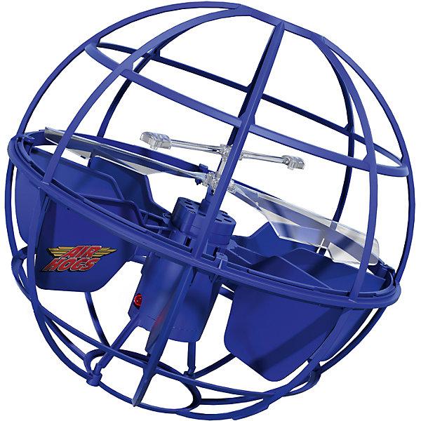 Игрушка НЛО Летающий шар, AIR HOGS, 44475/20063614Другие радиуправляемые игрушки<br>Игрушка НЛО Летающий шар, AIR HOGS - необычная игрушка, которая светится во время полета и может управляться при помощи рук, без пульта дистанционного управления (игроку необходимо лишь поднести ладонь к основанию летающего шара AIR HOGS НЛО).  У игрушки AIR HOGS НЛО есть сенсорные датчики, которые позволяют ей облетать препятствия, не задевая их, а также зависать в воздухе. Игрушка шар летающий AIR HOGS НЛО может быть использована одним игроком или же с ней могут играть два игрока, перекидывая ее друг другу. Летающий шар AIR HOGS НЛО может летать на определенном расстоянии от поверхности. Ребенок может самостоятельно регулировать высоту полета при помощи ладошек.  Как играть: 1) Включите игрушку (кнопка ON) 2) Установите игрушку на ровную поверхность (или пол), не берите сразу в руки. Игрушка начнет подниматься вверх/вниз, и через несколько секунд она начнет летать более сбалансированно. 3) Игра руками: НЛО зависает над вашей вытянутой рукой. 4) Перекидывание: возьмите тарелку за антенну и легонько перекиньте напарнику под углом 10-30 градусов. 5) После окончания игры нажмите кнопку Off-  Дополнительная информация:  - Диаметр игрушки: 14 см. - Материал: ударопрочный пластик, встроенные сенсорные датчики. - Игрушка светится во время полета. - Для работы необходимы 6 батареек х АА (в наборе нет).   Игрушку НЛО Летающий шар, AIR HOGS можно купить в нашем интернет-магазине.<br>Ширина мм: 130; Глубина мм: 300; Высота мм: 230; Вес г: 419; Возраст от месяцев: 36; Возраст до месяцев: 96; Пол: Мужской; Возраст: Детский; SKU: 4835984;