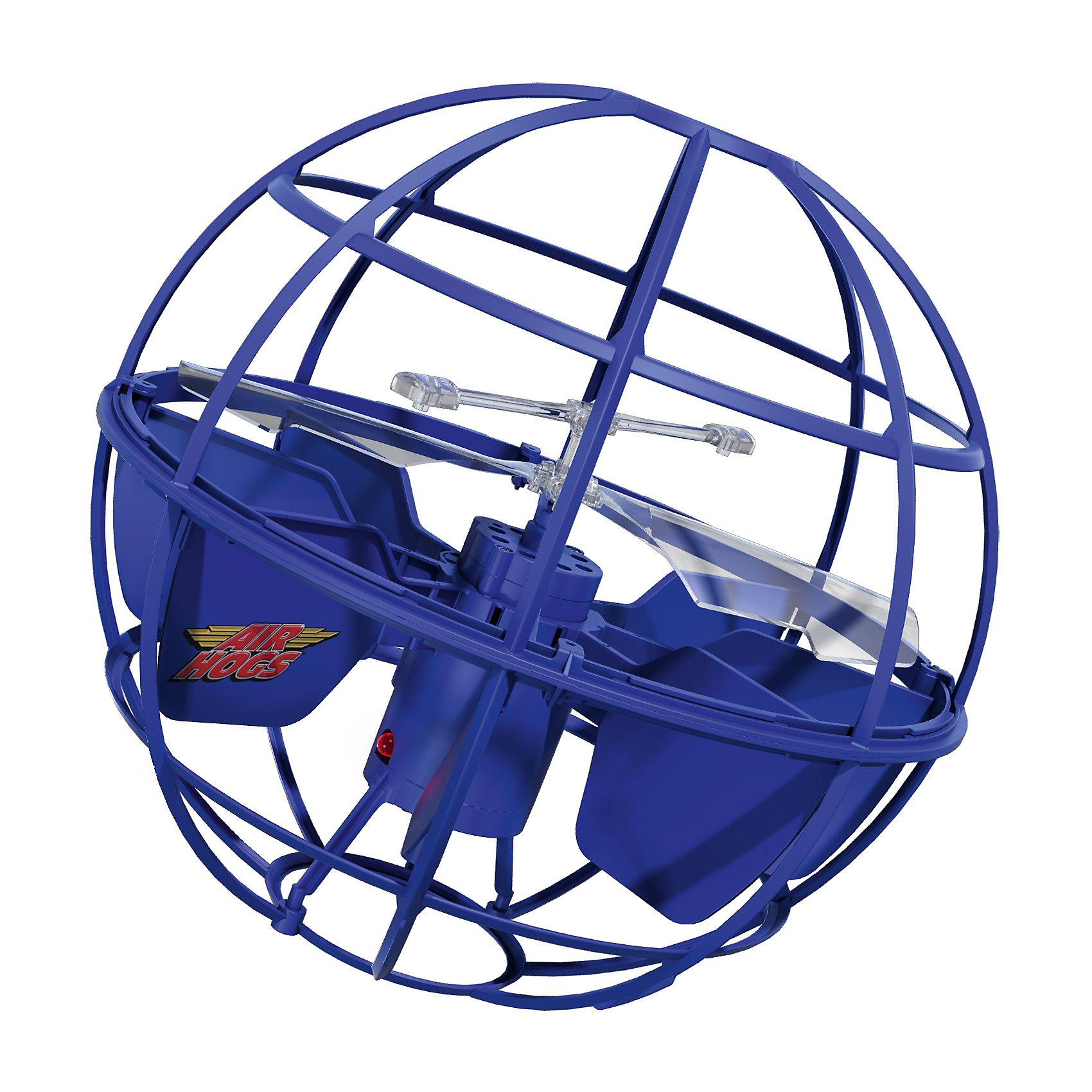 Игрушка НЛО Летающий шар, AIR HOGS, 44475/20063614Р/У Прочий транспорт<br>Игрушка НЛО Летающий шар, AIR HOGS - необычная игрушка, которая светится во время полета и может управляться при помощи рук, без пульта дистанционного управления (игроку необходимо лишь поднести ладонь к основанию летающего шара AIR HOGS НЛО).  У игрушки AIR HOGS НЛО есть сенсорные датчики, которые позволяют ей облетать препятствия, не задевая их, а также зависать в воздухе. Игрушка шар летающий AIR HOGS НЛО может быть использована одним игроком или же с ней могут играть два игрока, перекидывая ее друг другу. Летающий шар AIR HOGS НЛО может летать на определенном расстоянии от поверхности. Ребенок может самостоятельно регулировать высоту полета при помощи ладошек.  Как играть: 1) Включите игрушку (кнопка ON) 2) Установите игрушку на ровную поверхность (или пол), не берите сразу в руки. Игрушка начнет подниматься вверх/вниз, и через несколько секунд она начнет летать более сбалансированно. 3) Игра руками: НЛО зависает над вашей вытянутой рукой. 4) Перекидывание: возьмите тарелку за антенну и легонько перекиньте напарнику под углом 10-30 градусов. 5) После окончания игры нажмите кнопку Off-  Дополнительная информация:  - Диаметр игрушки: 14 см. - Материал: ударопрочный пластик, встроенные сенсорные датчики. - Игрушка светится во время полета. - Для работы необходимы 6 батареек х АА (в наборе нет).   Игрушку НЛО Летающий шар, AIR HOGS можно купить в нашем интернет-магазине.<br><br>Ширина мм: 130<br>Глубина мм: 300<br>Высота мм: 230<br>Вес г: 419<br>Возраст от месяцев: 36<br>Возраст до месяцев: 96<br>Пол: Мужской<br>Возраст: Детский<br>SKU: 4835984