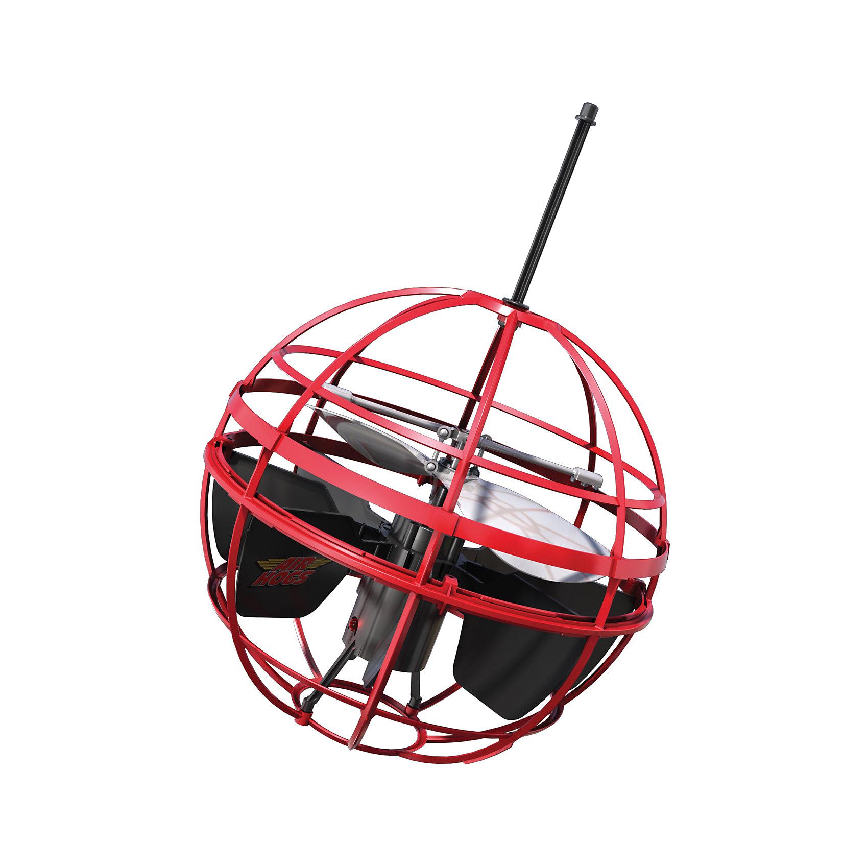 Игрушка НЛО Летающий шар, AIR HOGS, 44475/20063615Игрушка НЛО Летающий шар, AIR HOGS - необычная игрушка, которая светится во время полета и может управляться при помощи рук, без пульта дистанционного управления (игроку необходимо лишь поднести ладонь к основанию летающего шара AIR HOGS НЛО).  У игрушки AIR HOGS НЛО есть сенсорные датчики, которые позволяют ей облетать препятствия, не задевая их, а также зависать в воздухе. Игрушка шар летающий AIR HOGS НЛО может быть использована одним игроком или же с ней могут играть два игрока, перекидывая ее друг другу. Летающий шар AIR HOGS НЛО может летать на определенном расстоянии от поверхности. Ребенок может самостоятельно регулировать высоту полета при помощи ладошек.  Как играть: 1) Включите игрушку (кнопка ON) 2) Установите игрушку на ровную поверхность (или пол), не берите сразу в руки. Игрушка начнет подниматься вверх/вниз, и через несколько секунд она начнет летать более сбалансированно. 3) Игра руками: НЛО зависает над вашей вытянутой рукой. 4) Перекидывание: возьмите тарелку за антенну и легонько перекиньте напарнику под углом 10-30 градусов. 5) После окончания игры нажмите кнопку Off-  Дополнительная информация:  - Диаметр игрушки: 14 см. - Материал: ударопрочный пластик, встроенные сенсорные датчики. - Игрушка светится во время полета. - Для работы необходимы 6 батареек х АА (в наборе нет).   Игрушку НЛО Летающий шар, AIR HOGS можно купить в нашем интернет-магазине.<br><br>Ширина мм: 130<br>Глубина мм: 300<br>Высота мм: 230<br>Вес г: 419<br>Возраст от месяцев: 96<br>Возраст до месяцев: 156<br>Пол: Мужской<br>Возраст: Детский<br>SKU: 4835985