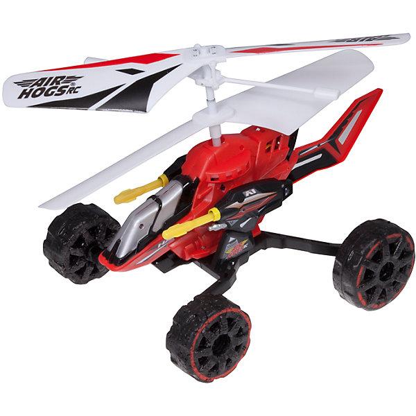 Машина - вертолет AIR HOGS, 44404/КрасныйСамолёты и вертолёты<br>Машина - вертолет AIR HOGS на инфракрасном управлении - игрушка, которая обязательно понравится Вашему ребенку!  Машина-вертолет - один из достойнейших представителей игрушек линейки Air Hogs.  Главное отличие этой модели от прочих – ее универсальность. Эта игрушка - гибрид вертолета и машины!  За счет вращения винтов машина-вертолет может двигаться либо по земле (вперед, влево, вправо), либо летать как настоящий вертолет! При нажатии кнопки на пульте машина-вертолет стреляет ракетами, находясь на земле или в воздухе. Игрушка снабжена микроконтроллером для достижения максимальной точности полета, что позволяет использовать ее не только на открытом воздухе, но и в помещении.  Время зарядки аккумулятора данной модели составляет около тридцати минут, время работы в полетном режиме – примерно пять минут.  Дополнительная информация:  - В комплект входит:  игрушка на и/к управлении. - Питание (Батарейки): ААх6 шт. (не входят в комплект). - Длина игрушки 17 см. - Время зарядки — ~30 минут. - Время работы в режиме полета — ~ 5 минут. Машину - вертолет AIR HOGS можно купить в нашем интернет-магазине.<br><br>Ширина мм: 305<br>Глубина мм: 254<br>Высота мм: 152<br>Вес г: 222<br>Возраст от месяцев: 96<br>Возраст до месяцев: 168<br>Пол: Мужской<br>Возраст: Детский<br>SKU: 4836018