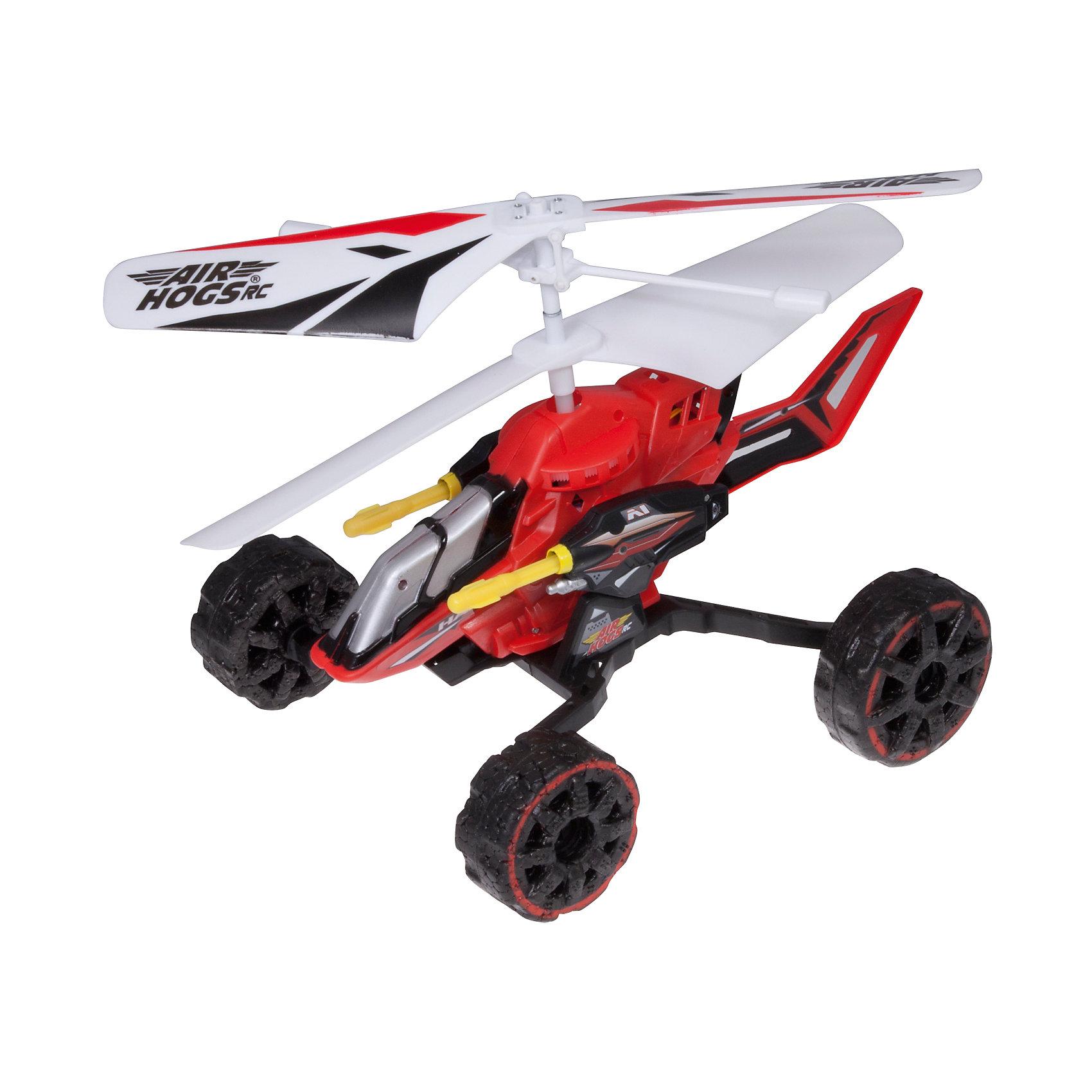 Spin Master Машина - вертолет AIR HOGS, 44404/Красный купить вертолет на пульте управления в костроме