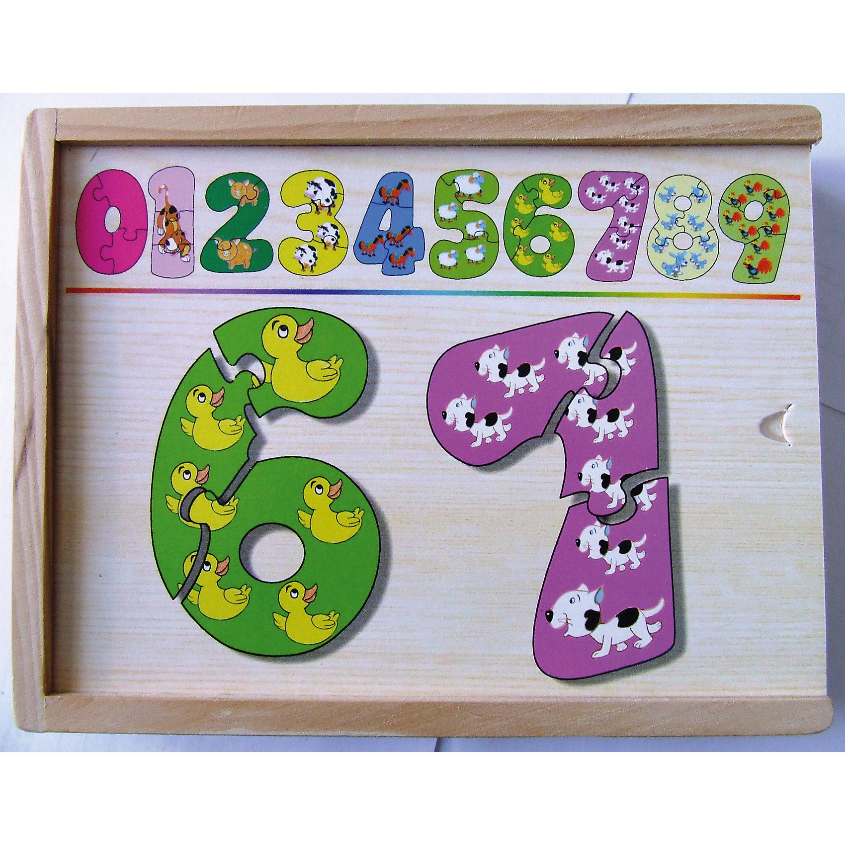 Набор цифры-пазлы (1-9 маленькие), СТЕЛЛА+Набор цифры-пазлы от 1 до 9(маленькие), поможет ребенку выучить цифры, научит составлять целое из  частей.<br><br><br>Дополнительная информация:<br><br>В наборе 9 цифр, состоящих из 3-х частей.<br>Материал: дерево<br>Размер коробки: 19 х 14 х 4 см<br><br><br>Набор цифры-пазлы (1-9 маленькие) можно купить в нашем магазине.<br><br>Ширина мм: 190<br>Глубина мм: 140<br>Высота мм: 40<br>Вес г: 800<br>Возраст от месяцев: 36<br>Возраст до месяцев: 60<br>Пол: Унисекс<br>Возраст: Детский<br>SKU: 4836021