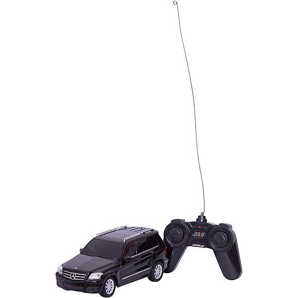 Машина MERCEDES-BENZ GLK, 1:24, р/у, RASTAR, черныйРадиоуправляемые машины<br>Машина MERCEDES-BENZ GLK обязательно понравится юным автолюбителям. Она прекрасно детализирована и реалистично раскрашена, быстро ездит, имеет световые эффекты - все это сделает игру  еще более интересной. Прорезиненные колеса обеспечивают надежное сцепление с любой гладкой поверхностью. Машина изготовлена из высококачественного экологичного пластика безопасного для детей.   Дополнительная информация:  - Материал: пластик.  - Размер игрушки: 19х8,5х7 см.  - Масштаб: 1:24. - Световые эффекты. - Максимальная скорость: 7 км/ч. - На пульте ДУ. - Элемент питания: 3 АА батарейки - для машины (не входят в комплект); 2 АА батарейки - для пульта (не входят в комплект) .  Машину MERCEDES-BENZ GLK, 1:24, р/у, RASTAR можно купить в нашем магазине.<br>Ширина мм: 140; Глубина мм: 290; Высота мм: 130; Вес г: 520; Возраст от месяцев: 36; Возраст до месяцев: 144; Пол: Мужской; Возраст: Детский; SKU: 4838257;