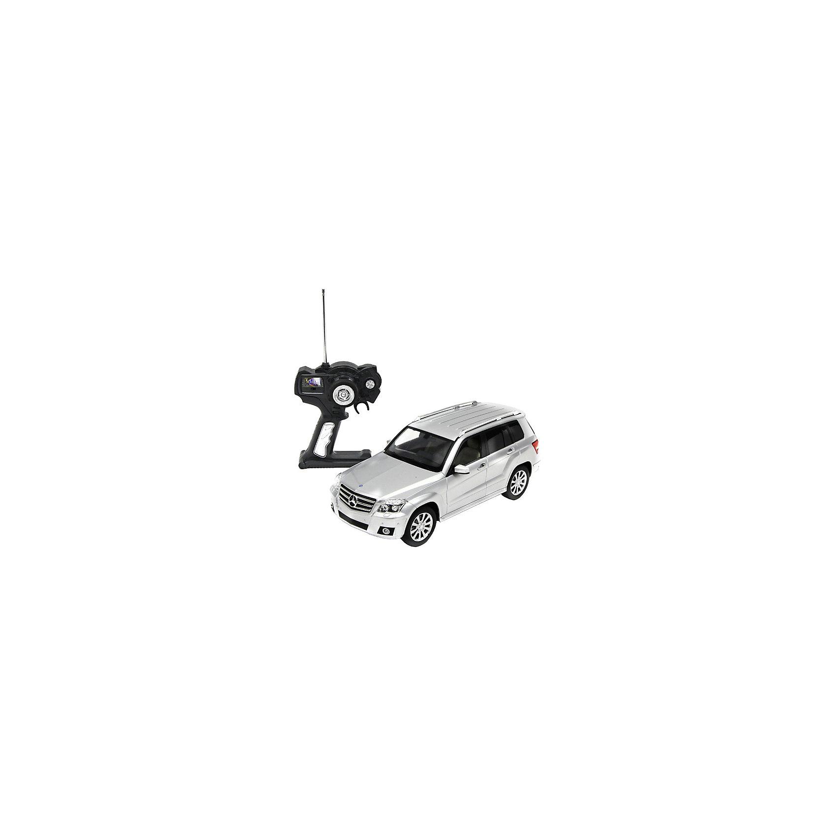 - Машина MERCEDES GLK, 1:14, со светом, р/у, RASTAR, серебристый купить автомобиль б у в донецке до 33000 грн