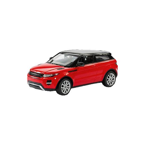 Машина RANGE ROVER EVOQUE, свет, на р/у, RASTAR, красныйРадиоуправляемые машины<br>Range Rover Evoque - превосходный подарок для детей и взрослых любителей Range Rover Evoque, выполненный в масштабе 1:14 Автомобиль может двигаться вперед, назад, влево, вправо со скоростью до 7 км/час. Передние фары и задние фонари, которыми оснащена игрушка, загораются при движении. Дальность управления игрушкой -  15-45 метров  Игрушечные машинки – незаменимый спутник роста и развития мальчиков!  Дополнительная информация:  - Пульт радиоуправления на частоте 27MHz. - Материал: высококачественная пластмасса - Размеры упаковки(ДхШхВ): 23 x 44 x 18 см - Размер игрушки(ДхШхВ): 16,7 х 35,2 х 13,5 см. - Батарейки: 5 х АА, 1 х «Крона», в комплект не входят. - Вес: 1,52 кг ВНИМАНИЕ! Цвет данной игрушки представлен в ассортименте (красный, белый, черный). К сожалению, предварительный выбор определенного цвета невозможен. При заказе нескольких единиц товара возможно получение одинаковых.  Машину RANGE ROVER EVOQUE, свет, на р/у, RASTAR можно купить в нашем интернет-магазине.<br>Ширина мм: 180; Глубина мм: 230; Высота мм: 440; Вес г: 1520; Возраст от месяцев: 36; Возраст до месяцев: 144; Пол: Мужской; Возраст: Детский; SKU: 4838270;