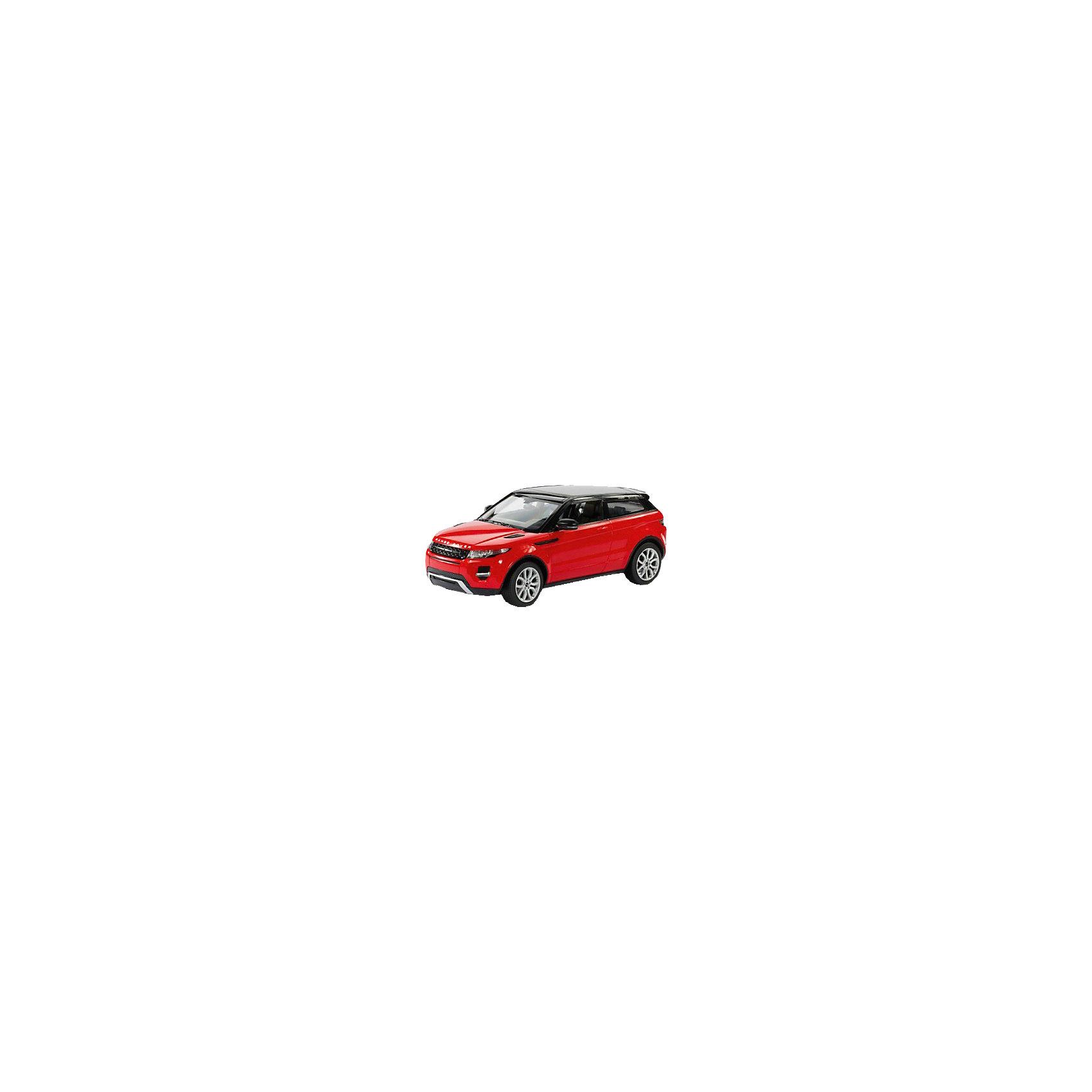 Машина RANGE ROVER EVOQUE, свет, на р/у, RASTAR, красныйRange Rover Evoque - превосходный подарок для детей и взрослых любителей Range Rover Evoque, выполненный в масштабе 1:14 Автомобиль может двигаться вперед, назад, влево, вправо со скоростью до 7 км/час. Передние фары и задние фонари, которыми оснащена игрушка, загораются при движении. Дальность управления игрушкой -  15-45 метров  Игрушечные машинки – незаменимый спутник роста и развития мальчиков!  Дополнительная информация:  - Пульт радиоуправления на частоте 27MHz. - Материал: высококачественная пластмасса - Размеры упаковки(ДхШхВ): 23 x 44 x 18 см - Размер игрушки(ДхШхВ): 16,7 х 35,2 х 13,5 см. - Батарейки: 5 х АА, 1 х «Крона», в комплект не входят. - Вес: 1,52 кг ВНИМАНИЕ! Цвет данной игрушки представлен в ассортименте (красный, белый, черный). К сожалению, предварительный выбор определенного цвета невозможен. При заказе нескольких единиц товара возможно получение одинаковых.  Машину RANGE ROVER EVOQUE, свет, на р/у, RASTAR можно купить в нашем интернет-магазине.<br><br>Ширина мм: 180<br>Глубина мм: 230<br>Высота мм: 440<br>Вес г: 1520<br>Возраст от месяцев: 36<br>Возраст до месяцев: 144<br>Пол: Мужской<br>Возраст: Детский<br>SKU: 4838270