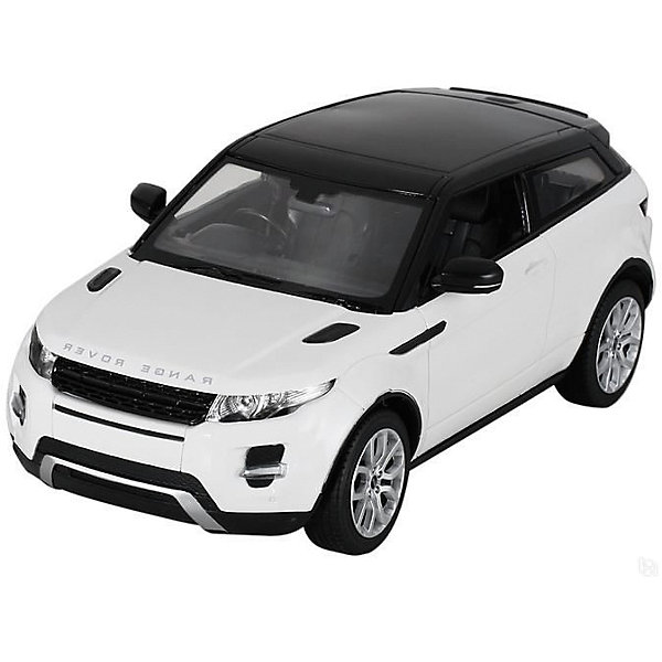 Машина RANGE ROVER EVOQUE, свет, на р/у, RASTAR, белыйРадиоуправляемые машины<br>Range Rover Evoque - превосходный подарок для детей и взрослых любителей Range Rover Evoque, выполненный в масштабе 1:14 Автомобиль может двигаться вперед, назад, влево, вправо со скоростью до 7 км/час. Передние фары и задние фонари, которыми оснащена игрушка, загораются при движении. Дальность управления игрушкой -  15-45 метров  Игрушечные машинки – незаменимый спутник роста и развития мальчиков!  Дополнительная информация:  - Пульт радиоуправления на частоте 27MHz. - Материал: высококачественная пластмасса - Размеры упаковки(ДхШхВ): 23 x 44 x 18 см - Размер игрушки(ДхШхВ): 16,7 х 35,2 х 13,5 см. - Батарейки: 5 х АА, 1 х «Крона», в комплект не входят. - Вес: 1,52 кг ВНИМАНИЕ! Цвет данной игрушки представлен в ассортименте (красный, белый, черный). К сожалению, предварительный выбор определенного цвета невозможен. При заказе нескольких единиц товара возможно получение одинаковых.  Машину RANGE ROVER EVOQUE, свет, на р/у, RASTAR можно купить в нашем интернет-магазине.<br><br>Ширина мм: 180<br>Глубина мм: 230<br>Высота мм: 440<br>Вес г: 1520<br>Возраст от месяцев: 36<br>Возраст до месяцев: 144<br>Пол: Мужской<br>Возраст: Детский<br>SKU: 4838271