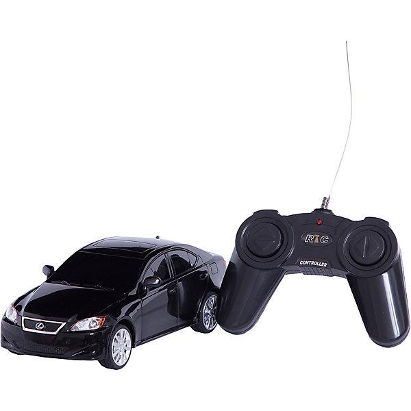 Машина LEXUS IS 350, 1:24, со светом, р/у, RASTAR, черныйРадиоуправляемые машины<br>Красивый и стильный автомобиль представительского класса, выполненный в масштабе 1:18 приведет в восторг любого мальчишку! Машина прекрасно детализирована, очень похожа на настоящий автомобиль, развивает скорость до 7 км/ч. Модель имеет четыре направления движения: вперед, назад, вправо и влево, работающие  задние огни и стоп-сигналы.   Дополнительная информация:  - Материал: пластик, металл. - Размер: 19,2 х 8,3 х 6 см.  - Максимальная скорость 7 км/ч. - Время непрерывной работы: 45 мин. - Масштаб: 1:24. - Комплектация: машинка; пульт управления. - Звуковые и световые эффекты. - Элемент питания: 5 ААА батареек, 1 крона (в комплект не входят). - Дистанция управления: до 45 м. Машину LEXUS IS 350, 1:24, со светом, р/у, RASTAR можно купить в нашем магазине.<br>Ширина мм: 130; Глубина мм: 270; Высота мм: 110; Вес г: 450; Возраст от месяцев: 36; Возраст до месяцев: 144; Пол: Мужской; Возраст: Детский; SKU: 4838273;