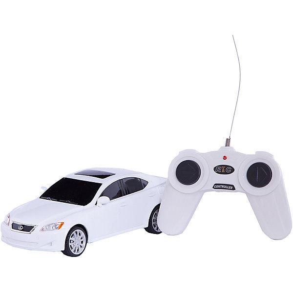 Машина LEXUS IS 350, 1:24, со светом, р/у, RASTAR, белыйРадиоуправляемые машины<br>Красивый и стильный автомобиль представительского класса, выполненный в масштабе 1:18 приведет в восторг любого мальчишку! Машина прекрасно детализирована, очень похожа на настоящий автомобиль, развивает скорость до 7 км/ч. Модель имеет четыре направления движения: вперед, назад, вправо и влево, работающие  задние огни и стоп-сигналы.   Дополнительная информация:  - Материал: пластик, металл. - Размер: 19,2 х 8,3 х 6 см.  - Максимальная скорость 7 км/ч. - Время непрерывной работы: 45 мин. - Масштаб: 1:24. - Комплектация: машинка; пульт управления. - Звуковые и световые эффекты. - Элемент питания: 5 ААА батареек, 1 крона (в комплект не входят). - Дистанция управления: до 45 м. Машину LEXUS IS 350, 1:24, со светом, р/у, RASTAR можно купить в нашем магазине.<br><br>Ширина мм: 130<br>Глубина мм: 270<br>Высота мм: 110<br>Вес г: 450<br>Возраст от месяцев: 36<br>Возраст до месяцев: 144<br>Пол: Мужской<br>Возраст: Детский<br>SKU: 4838274